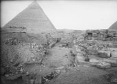 Eastern Cemetery: Site: Giza; View: G 7050, G 7060, G 7070, G 7000 SW 27