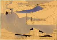 Club House, Argentina, 1931-1932: Site Plan And Perspectives