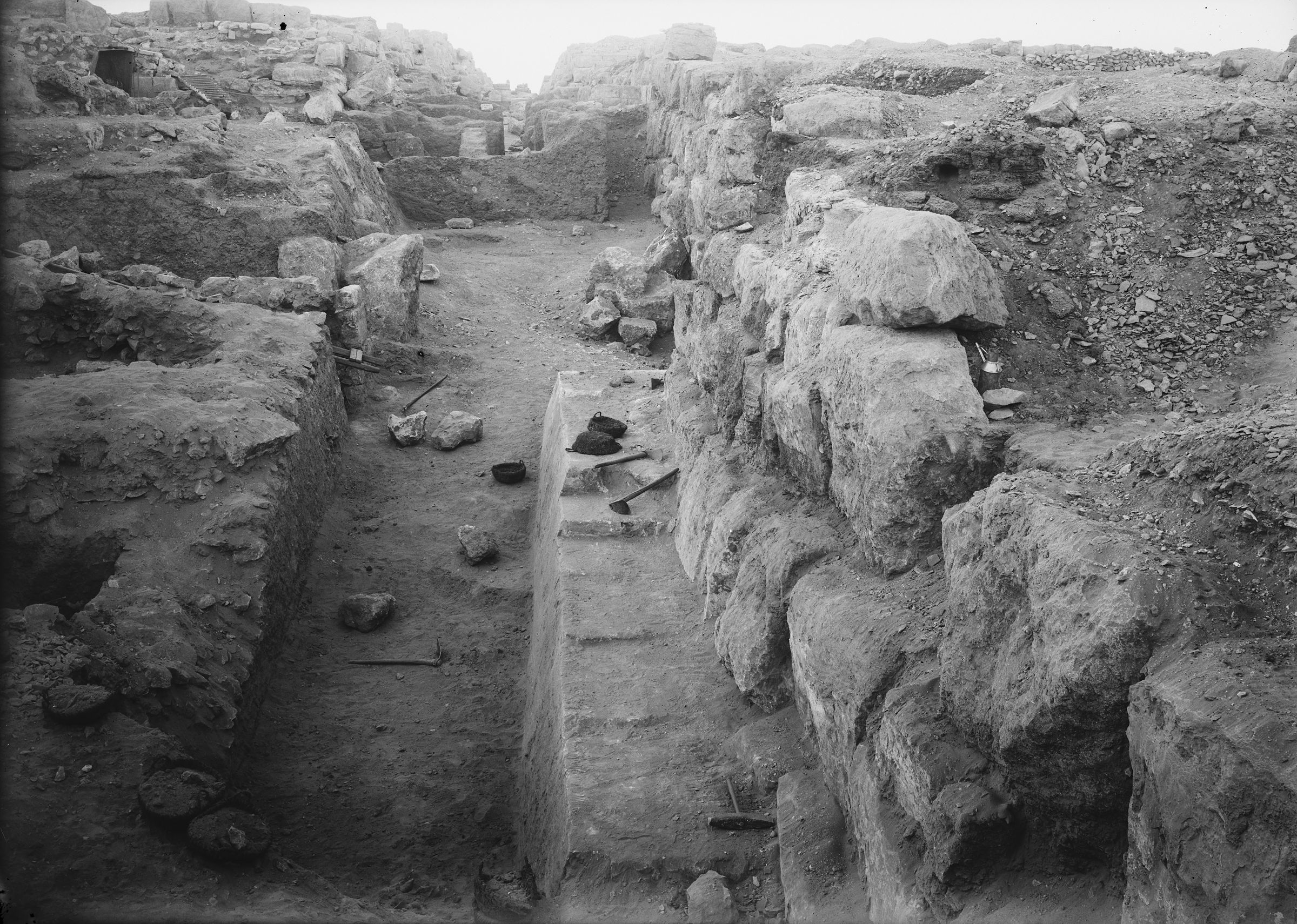 Eastern Cemetery: Site: Giza; View: street G 7200, G 7230-7240, G 7241, G 7350