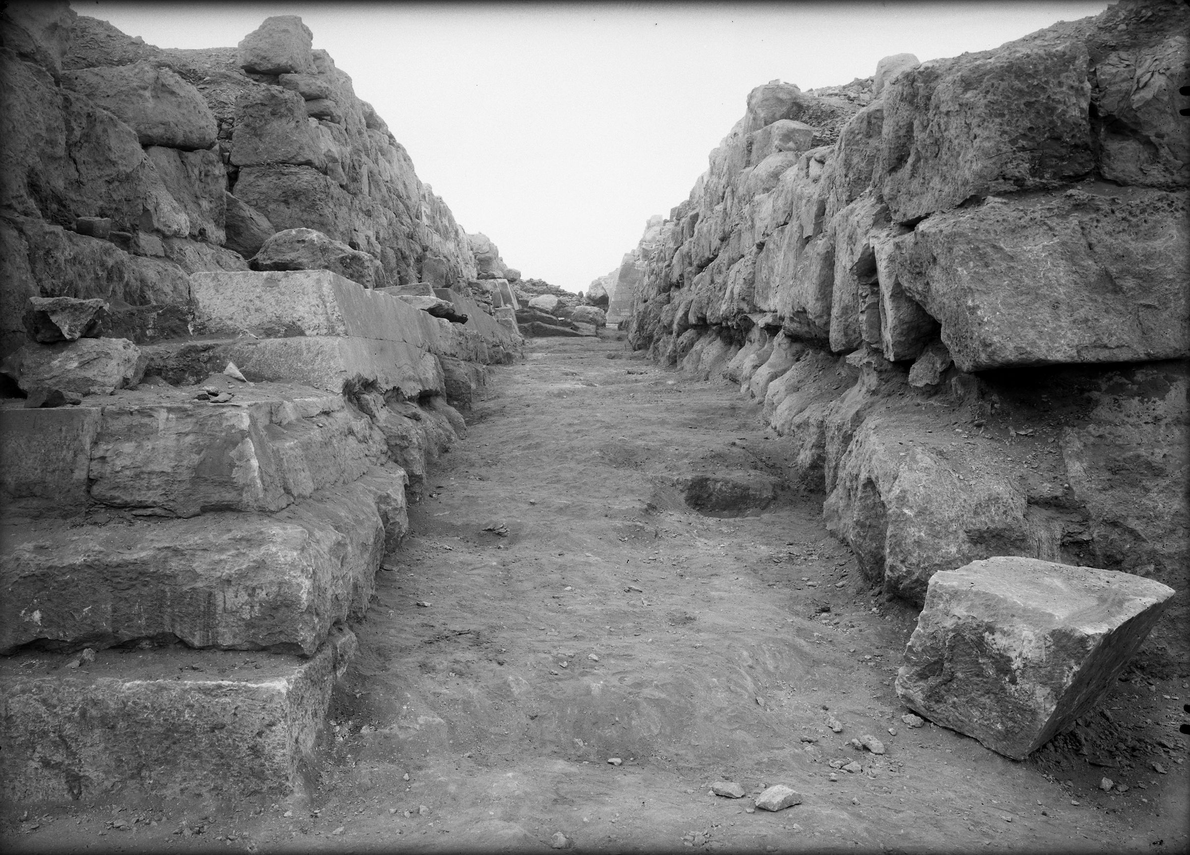 Eastern Cemetery: Site: Giza; View: street G 7300, G 7350, G 7450