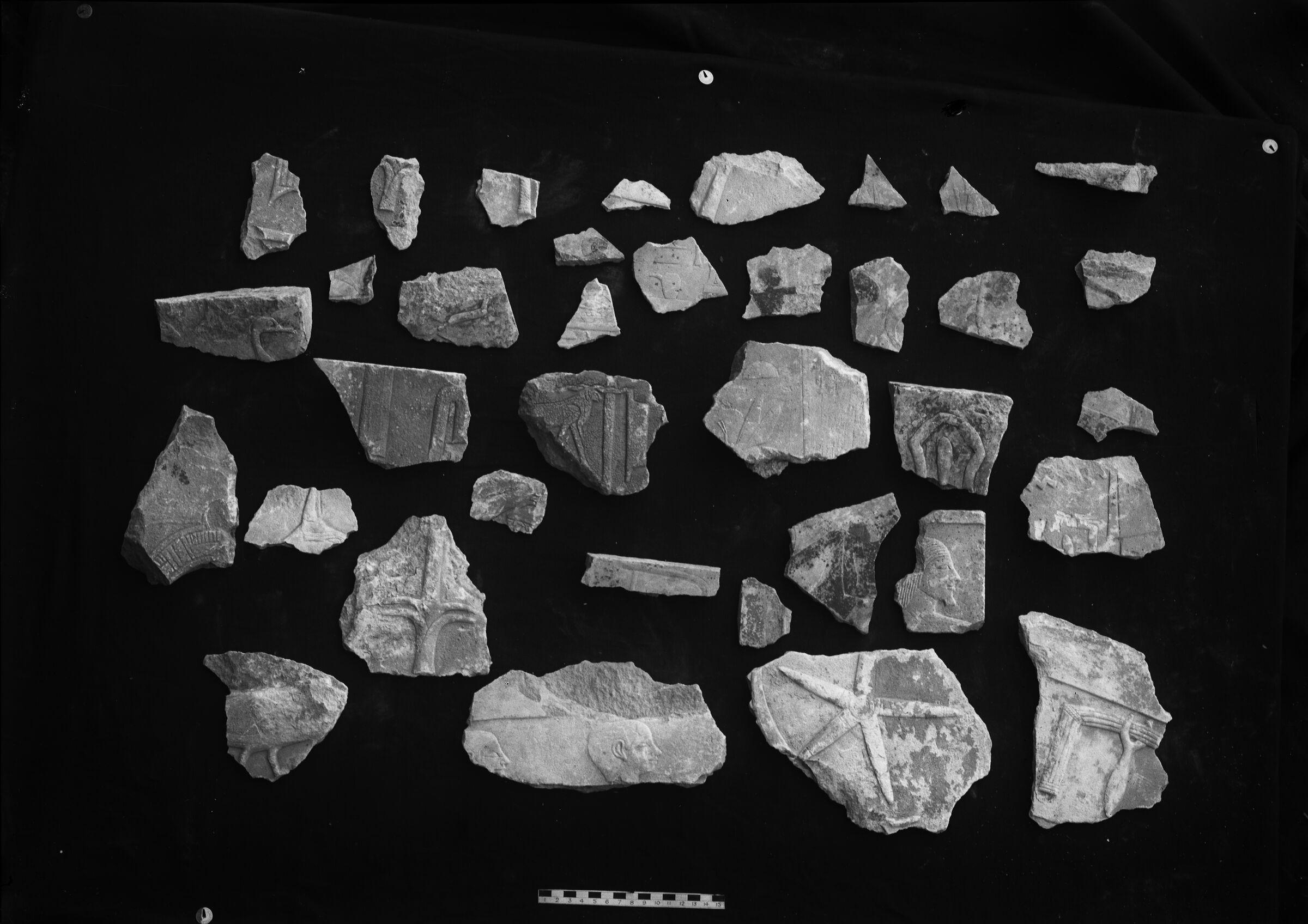 Object(s) photograph: Site: Giza; view: G 7110-7120, street G 7000, street G 7300, G 7310-7320, G I-b, street G 7400, avenue G 1, Khufu pyramid temple