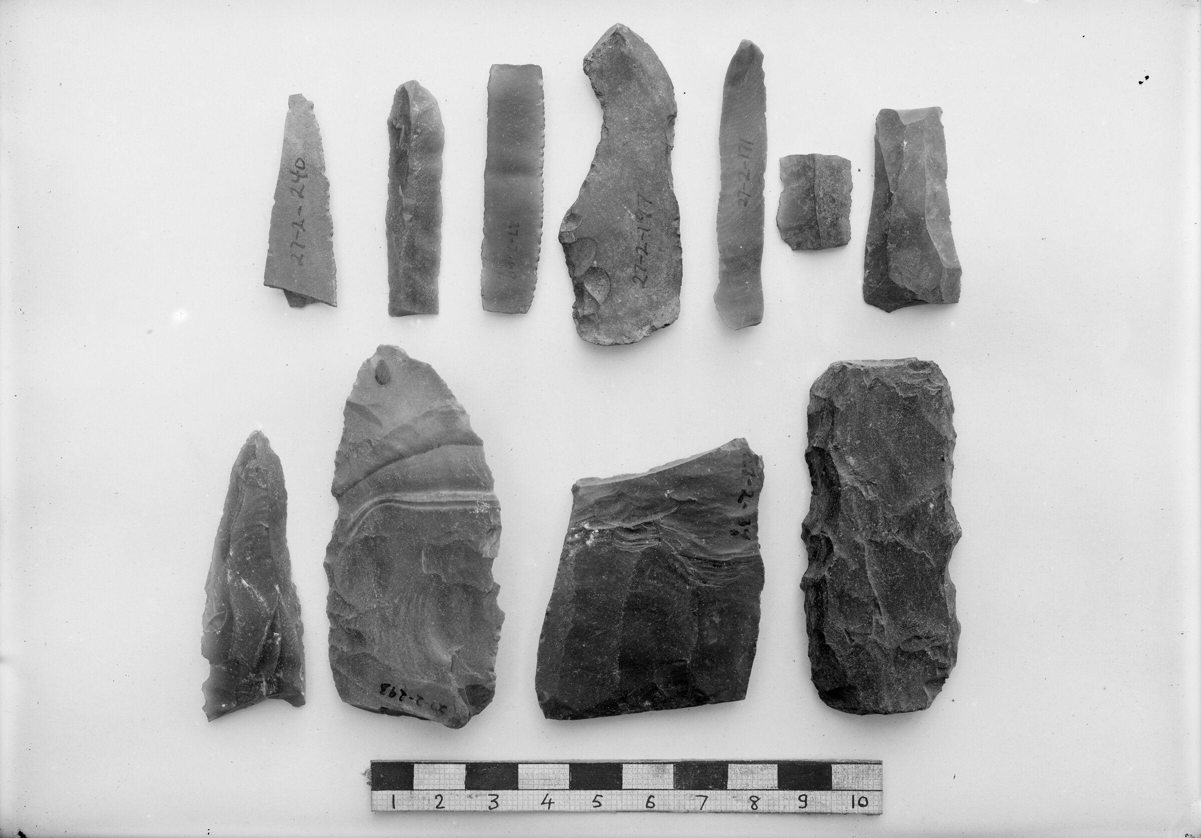 Object(s) photograph: Site: Giza; view: G 7330-7340, G 7520, street G 7300, street G 7400, G 7520, G 7430-7440