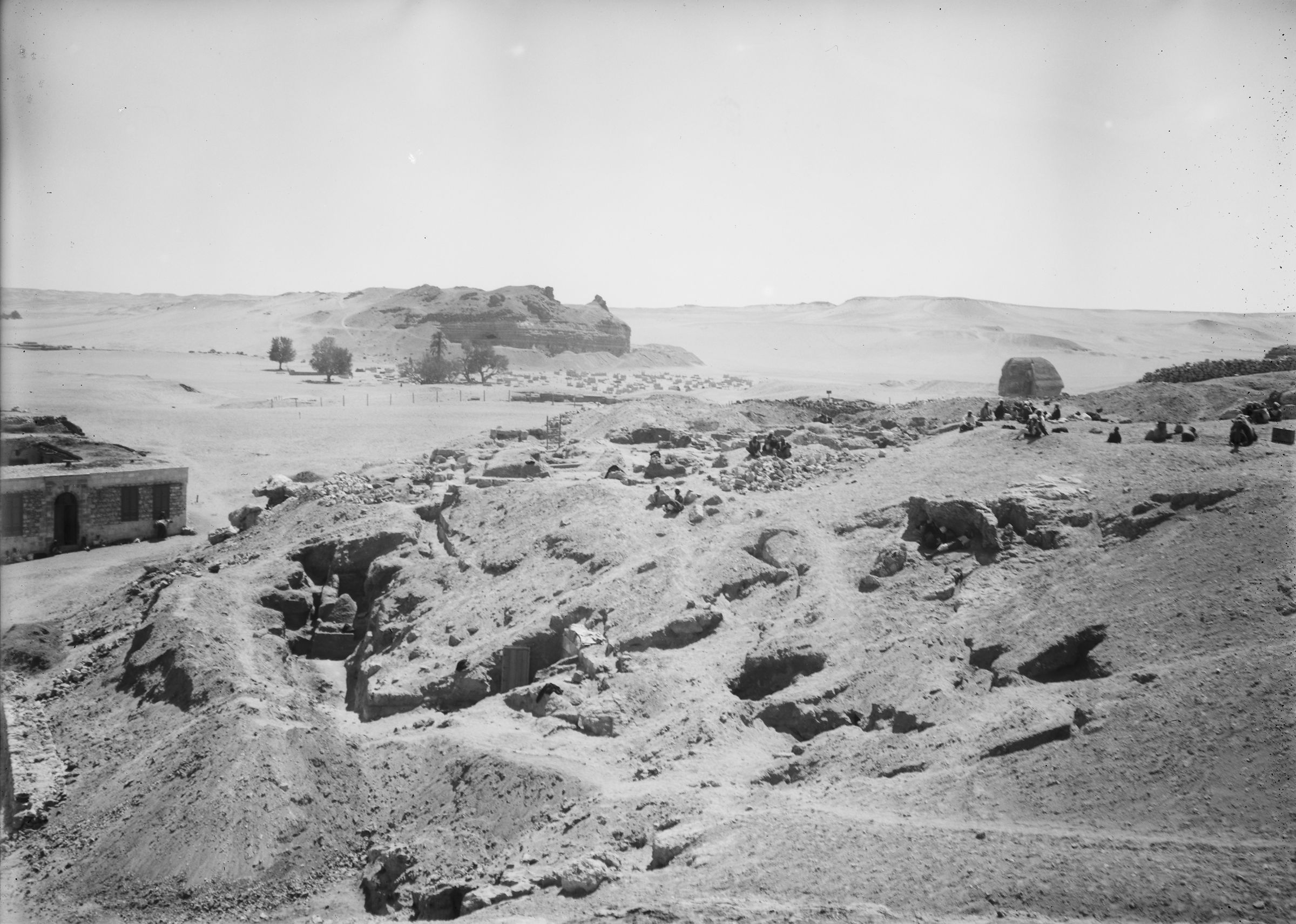 Eastern Cemetery: Site: Giza; View: G 7901, G 7783