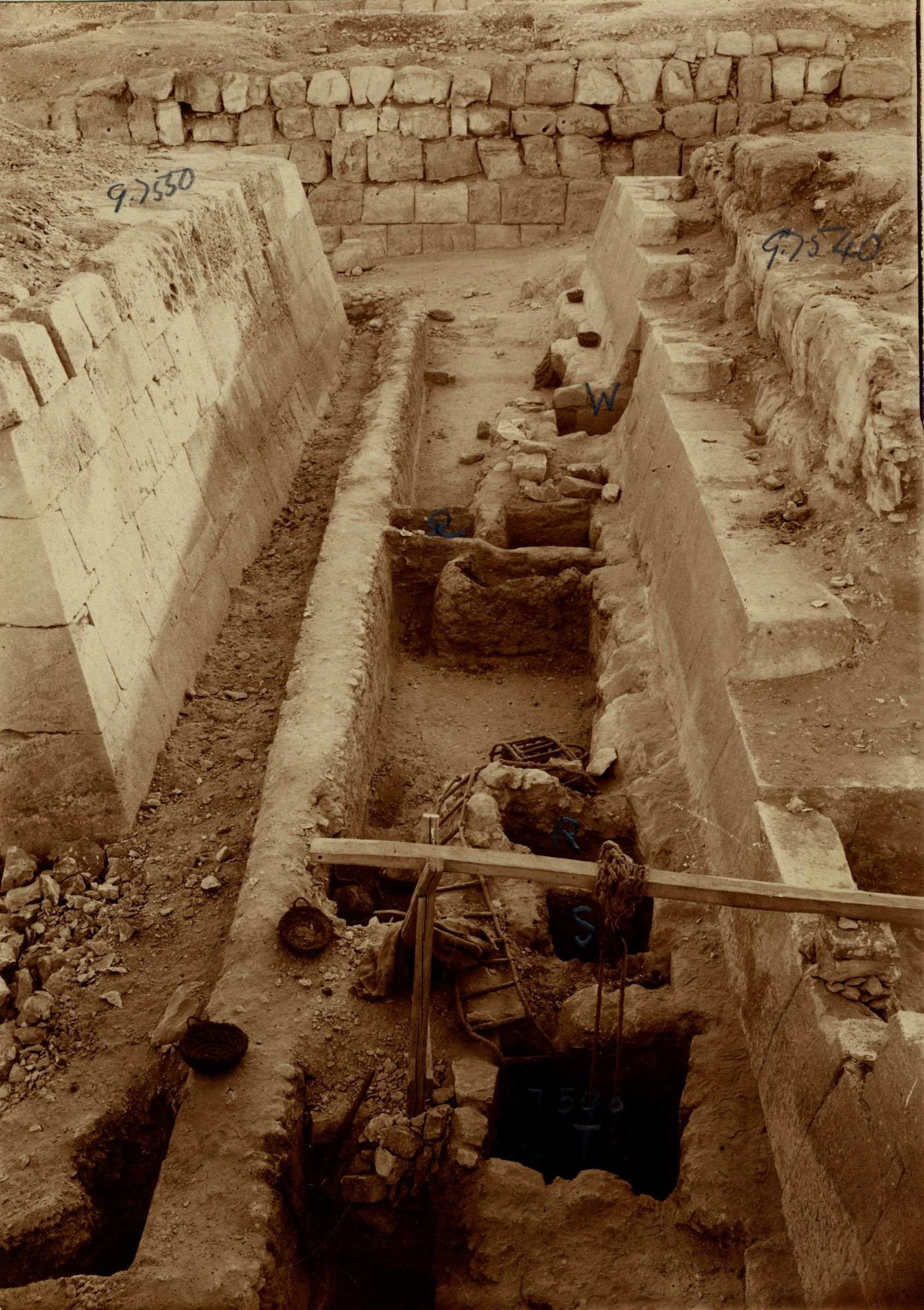 Eastern Cemetery: Site: Giza; View: G 7530-7540, G 7550