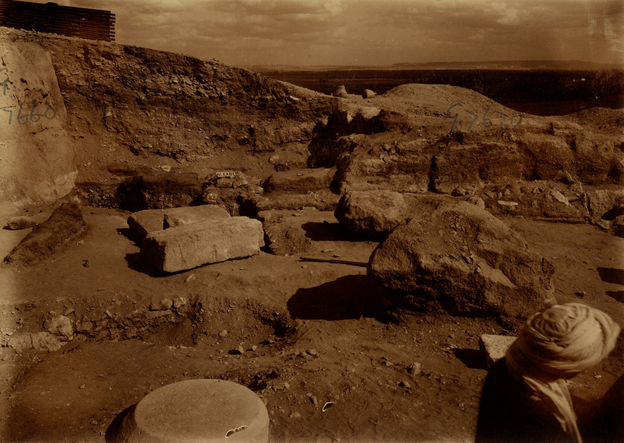 Eastern Cemetery: Site: Giza; View: G 7660, G 7670