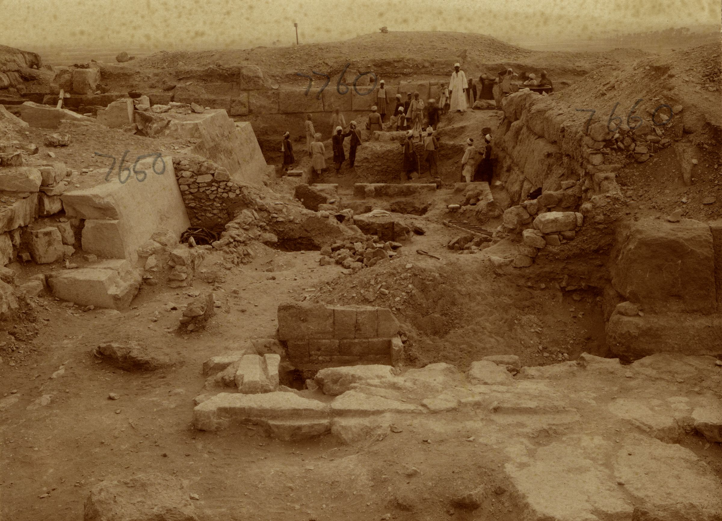 Eastern Cemetery: Site: Giza; View: G 7650, G 7660, G 7652, G 7760