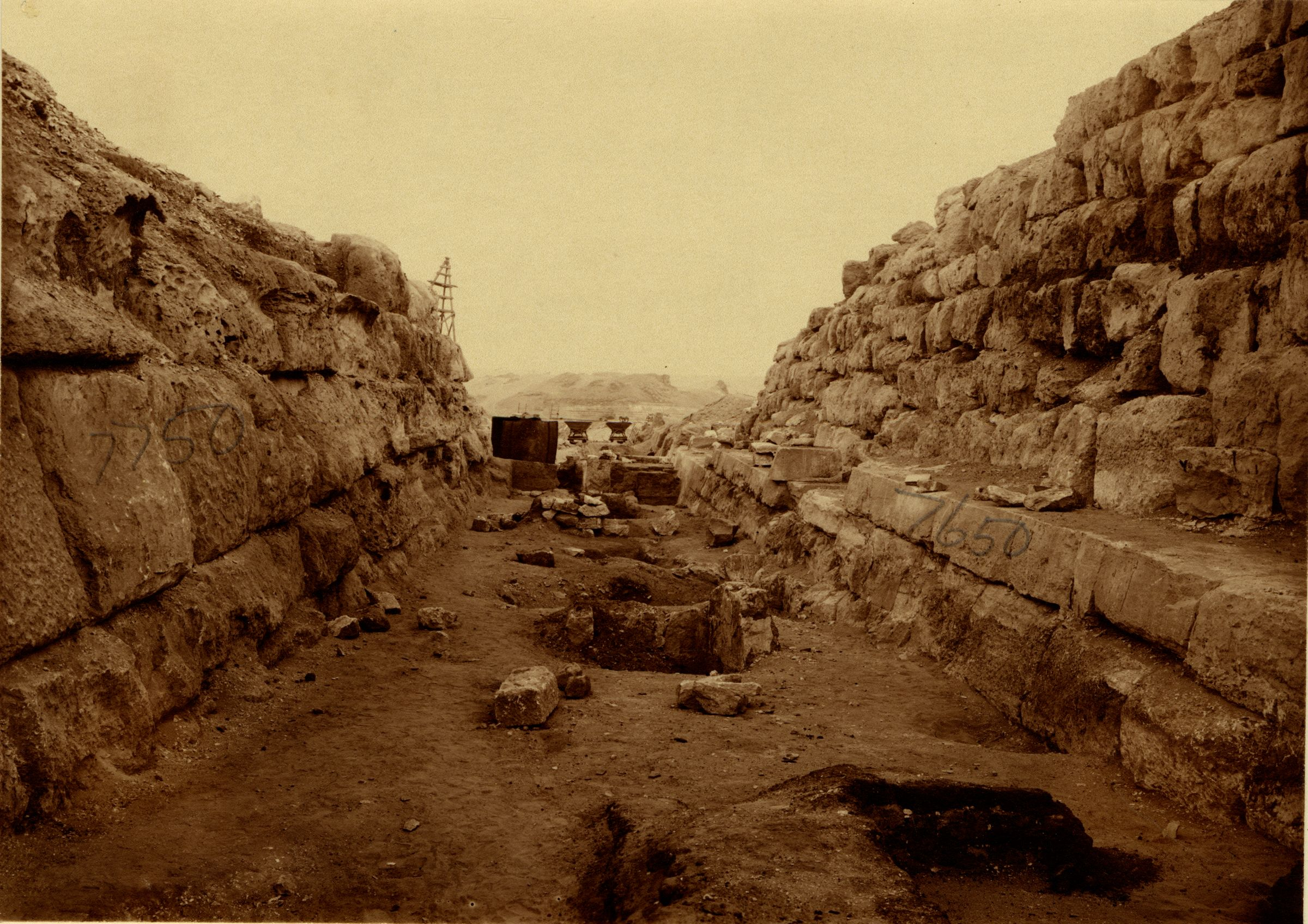 Eastern Cemetery: Site: Giza; View: street G 7600, G 7750, G 7650
