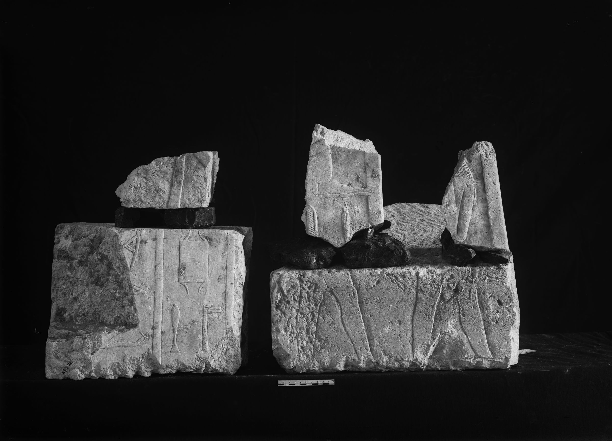 Object(s) photograph: Site: Giza; view: G 7560, G 7650