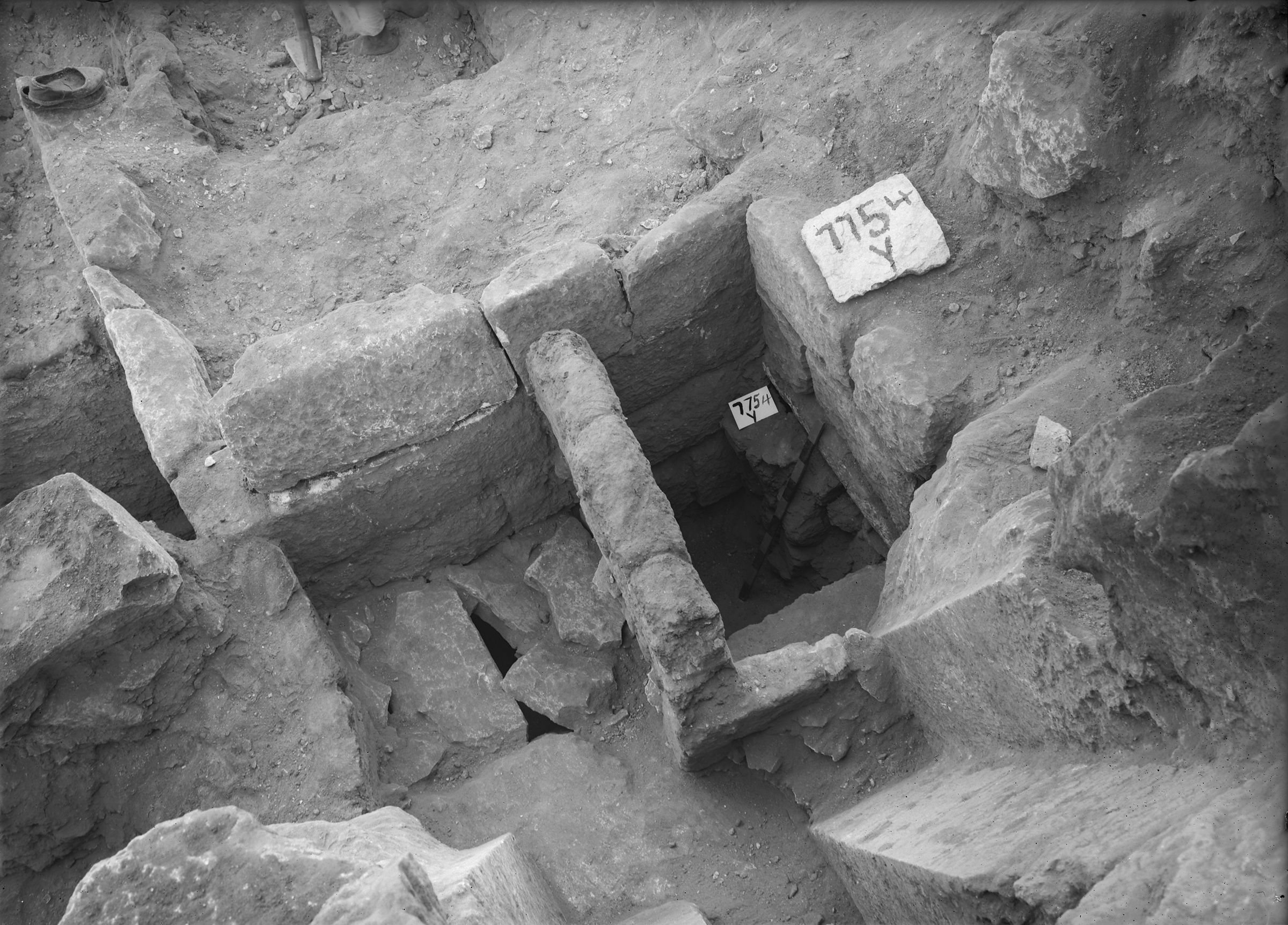 Eastern Cemetery: Site: Giza; View: G 7754, G 7750