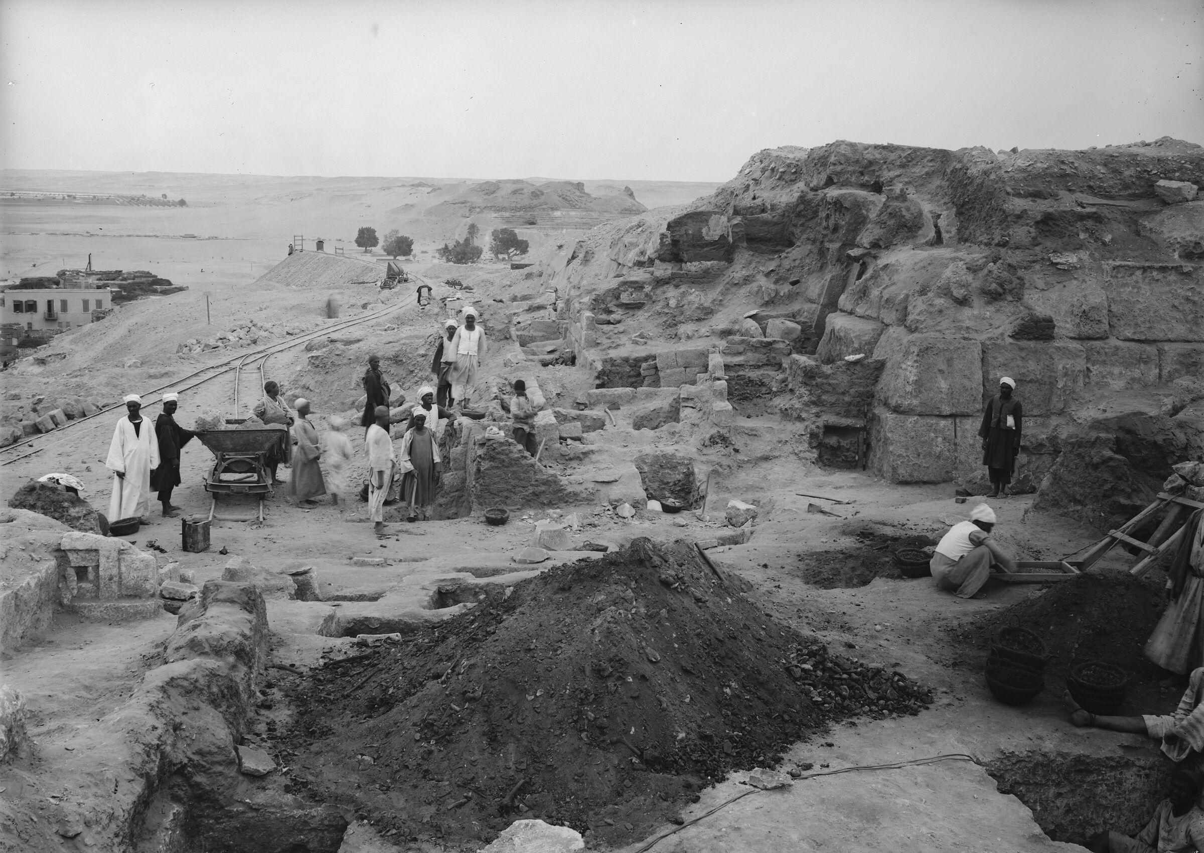 Eastern Cemetery: Site: Giza; View: street G 7700, G 7757, G 7750, G 7755, G 7754, G 7761