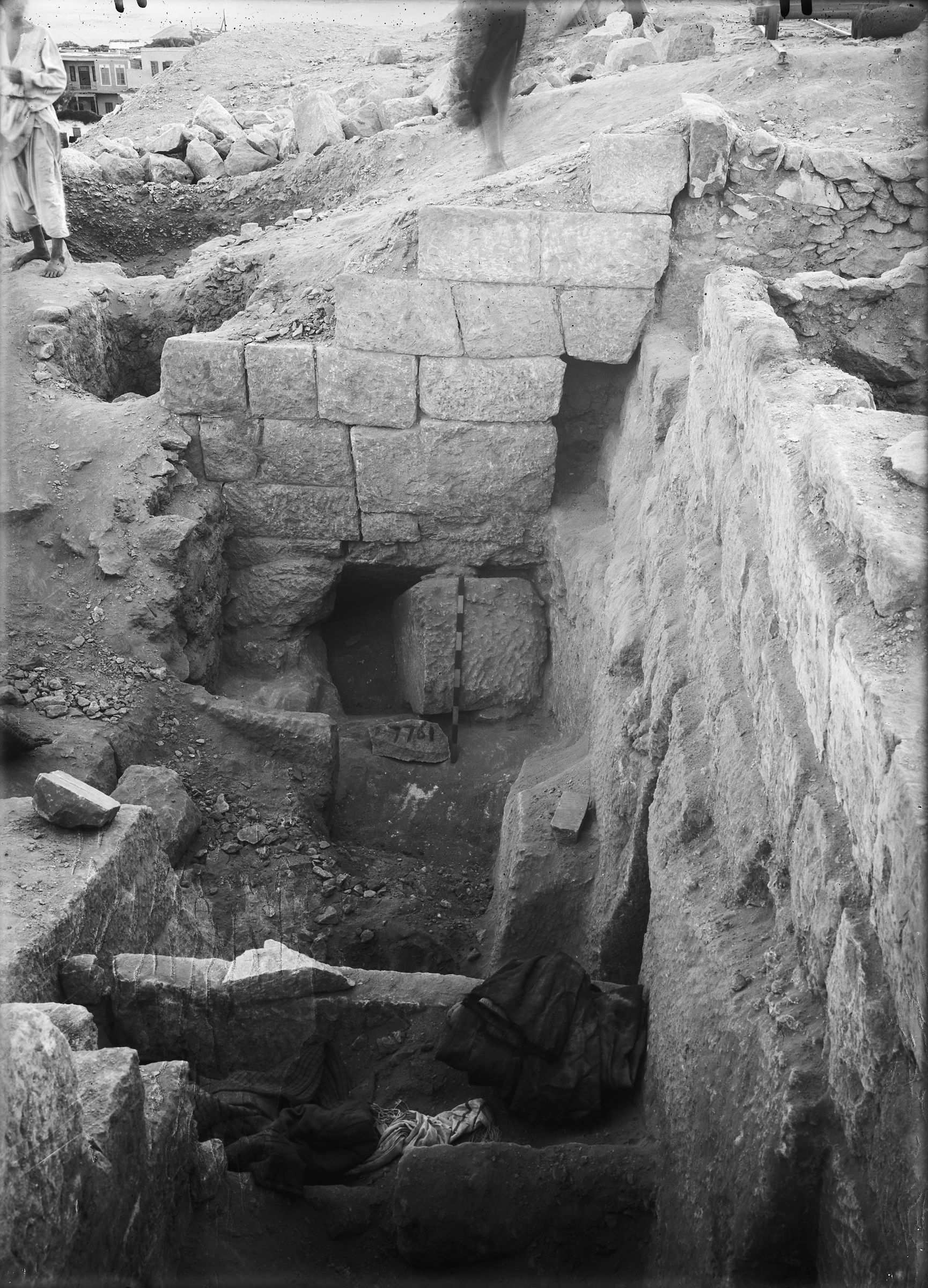 Eastern Cemetery: Site: Giza; View: G 7761, G 7762
