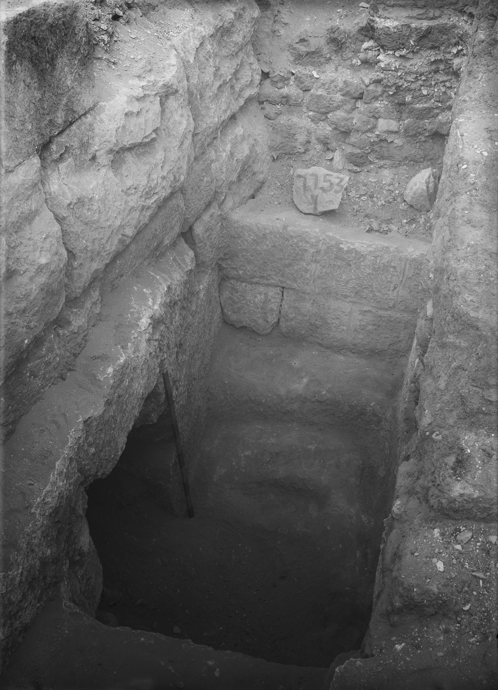 Eastern Cemetery: Site: Giza; View: G 7753