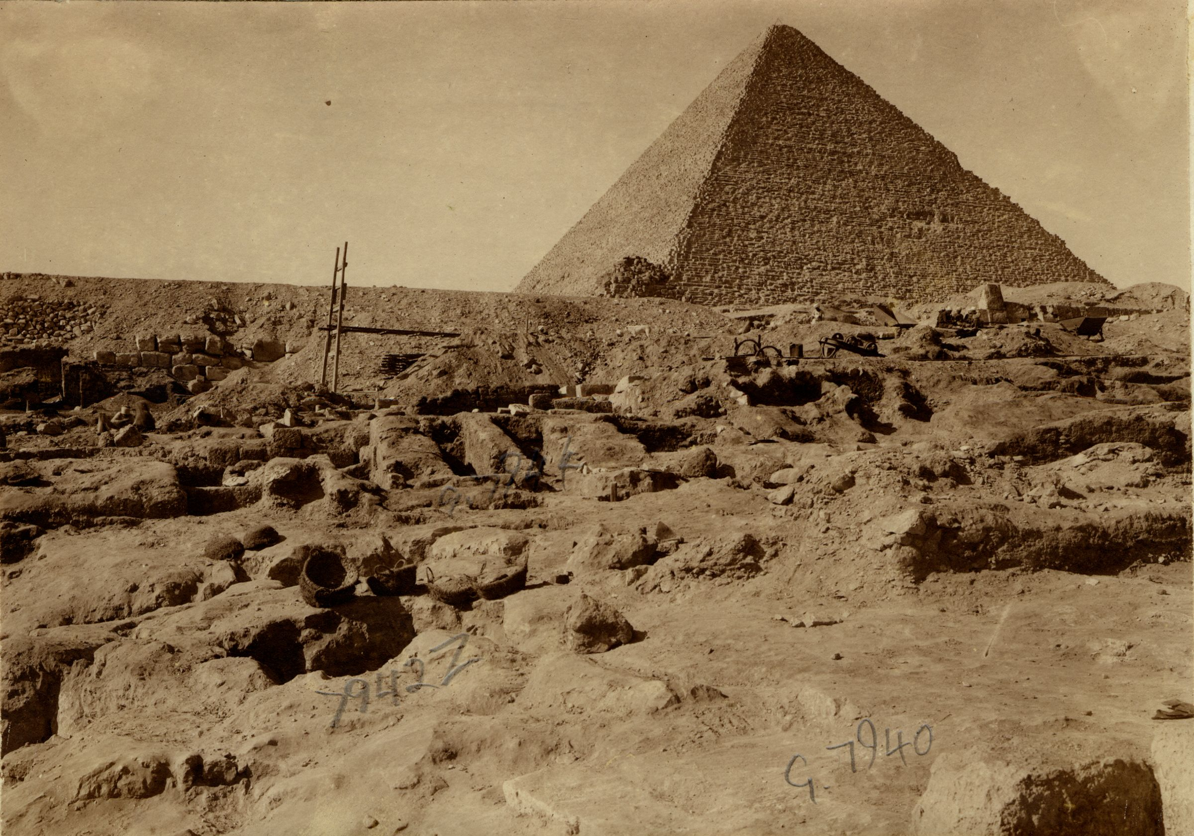 Eastern Cemetery: Site: Giza; View: G 7940, G 7942, G 7944