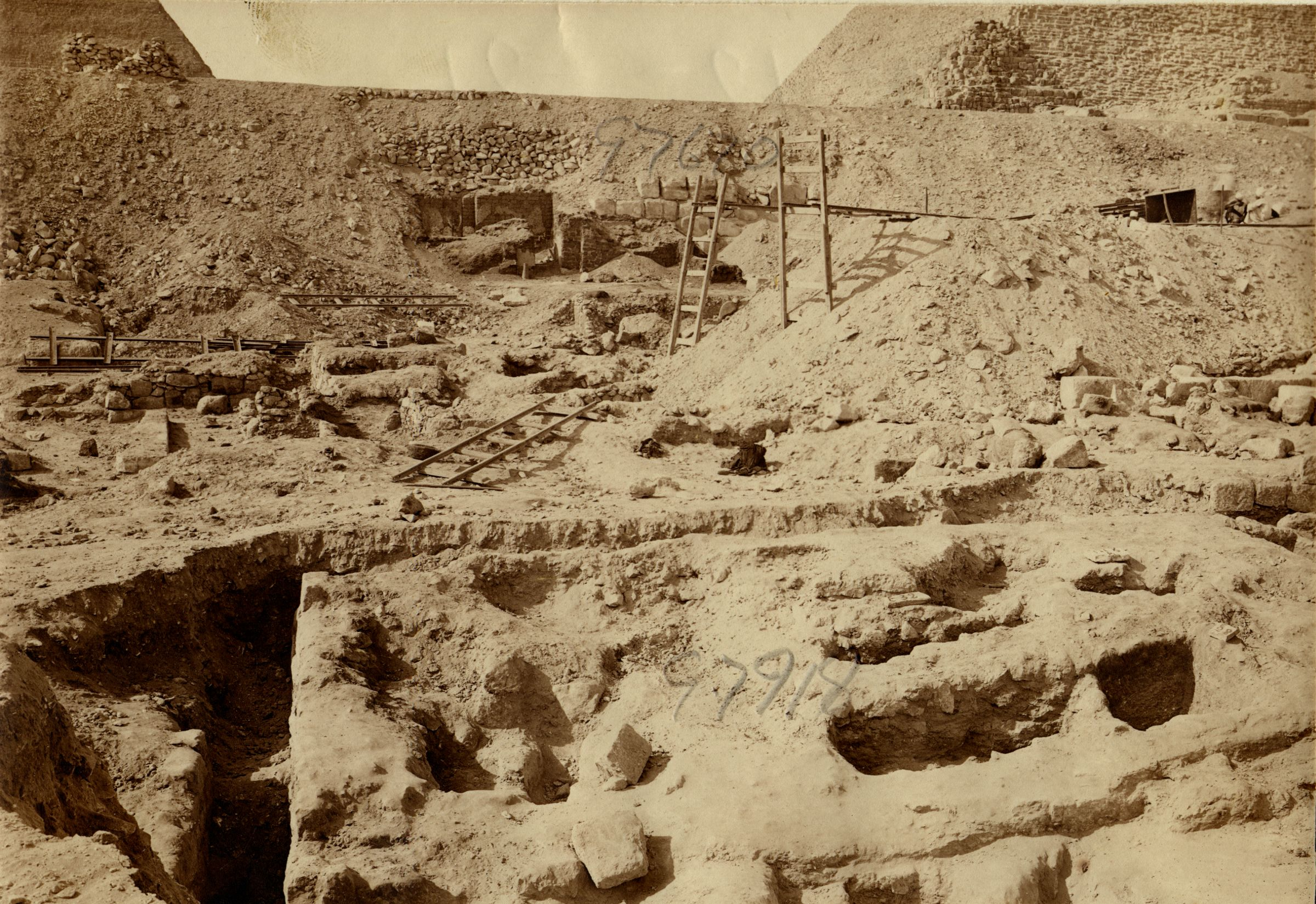 Eastern Cemetery: Site: Giza; View: G 7918, G 7670