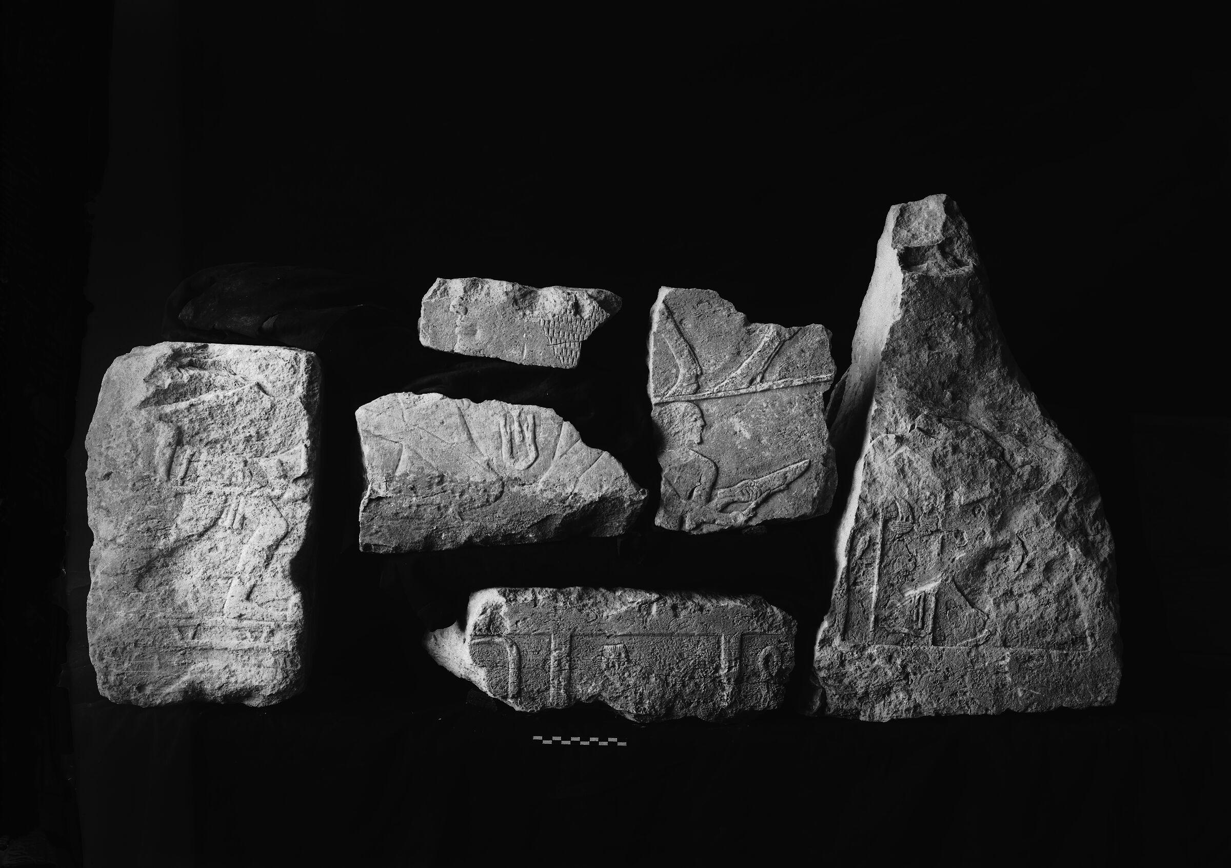 Object(s) photograph: Site: Giza; view: G 7110-7120, street G 7100, street G 7400, G 7410-7420