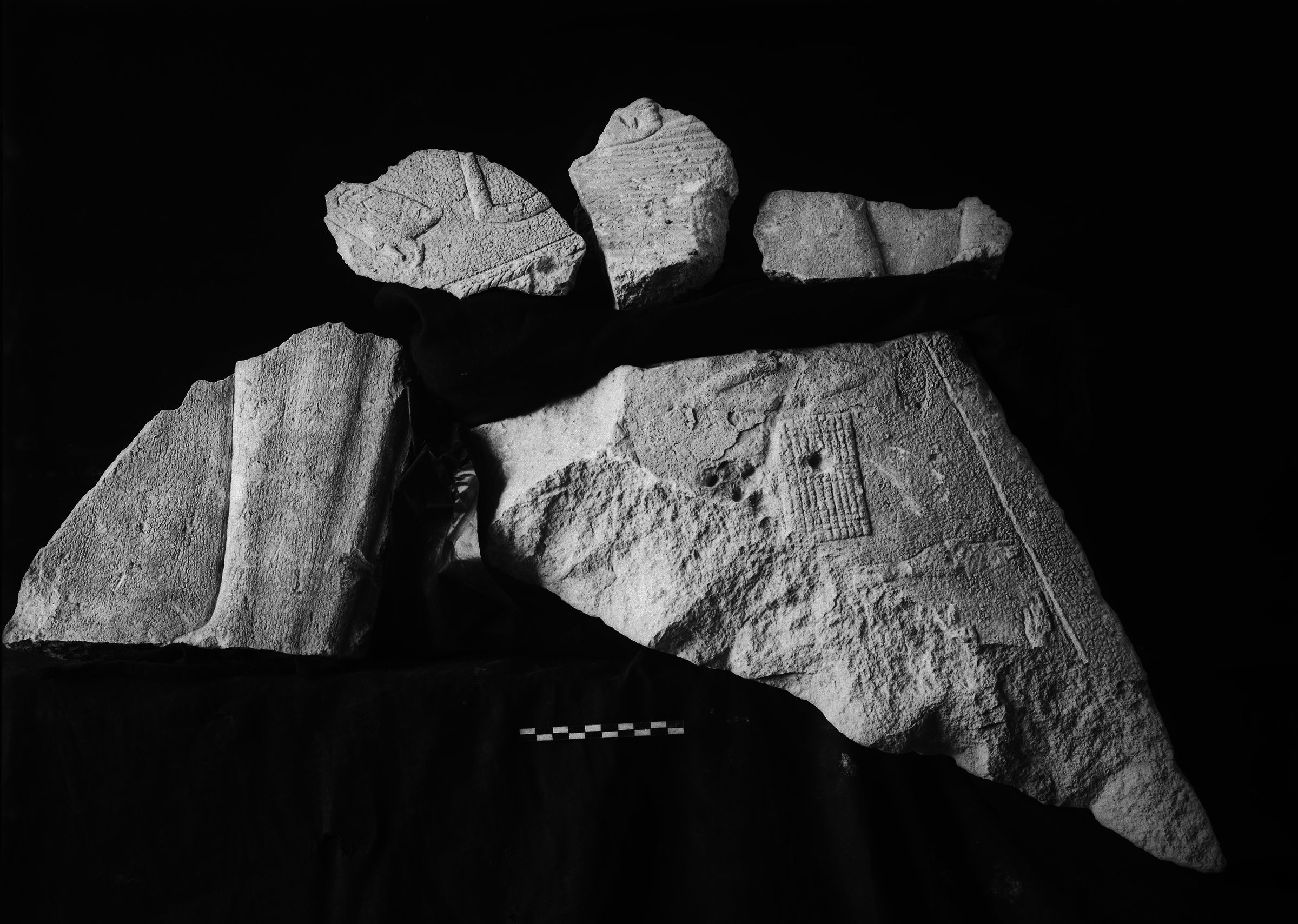 Object(s) photograph: Site: Giza; view: G 7130-7140