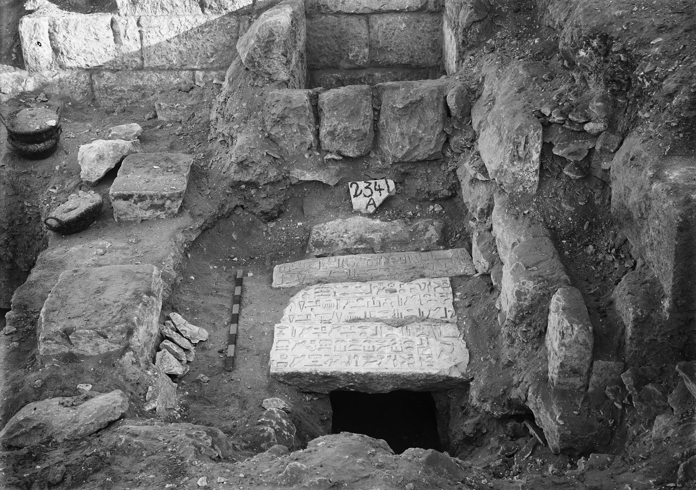 Western Cemetery: Site: Giza; View: G 5540