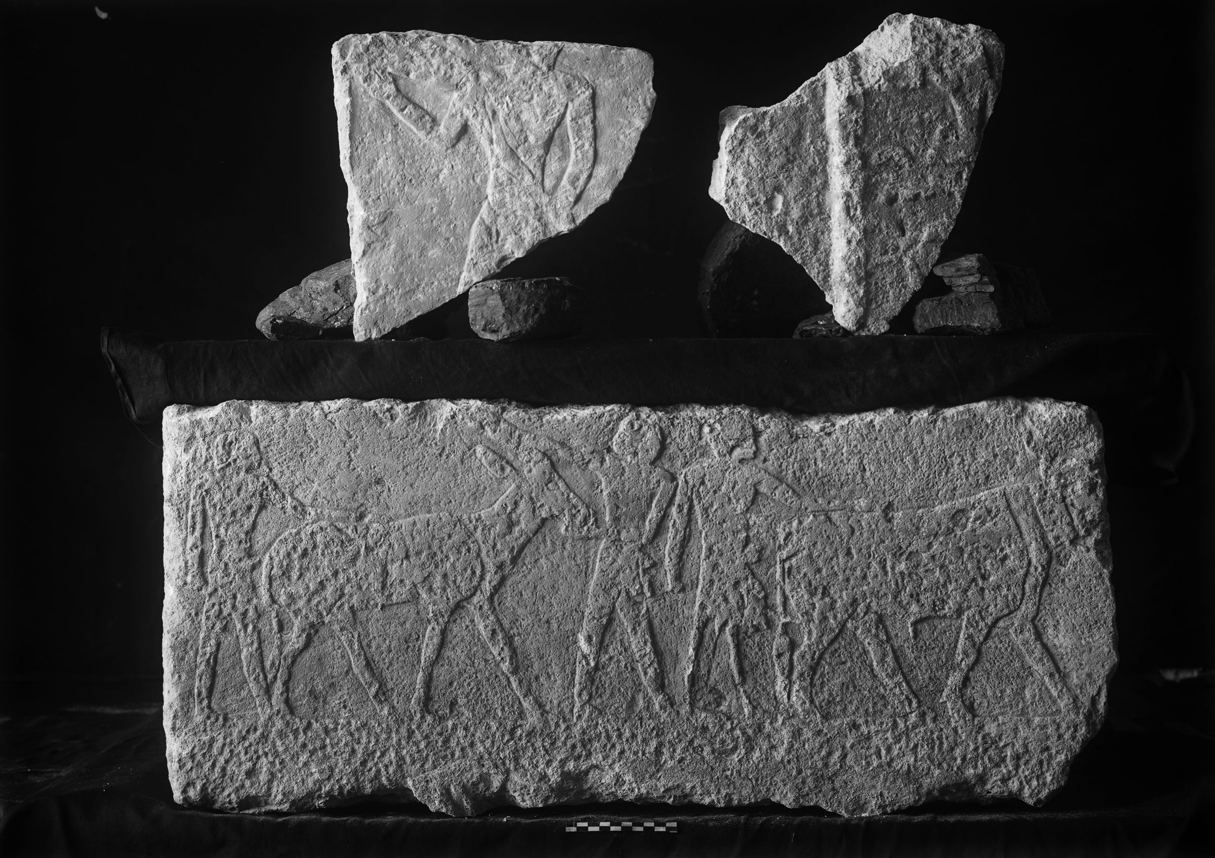 Object(s) photograph: Site: Giza; view: G 2342 = G 5520, G 5540