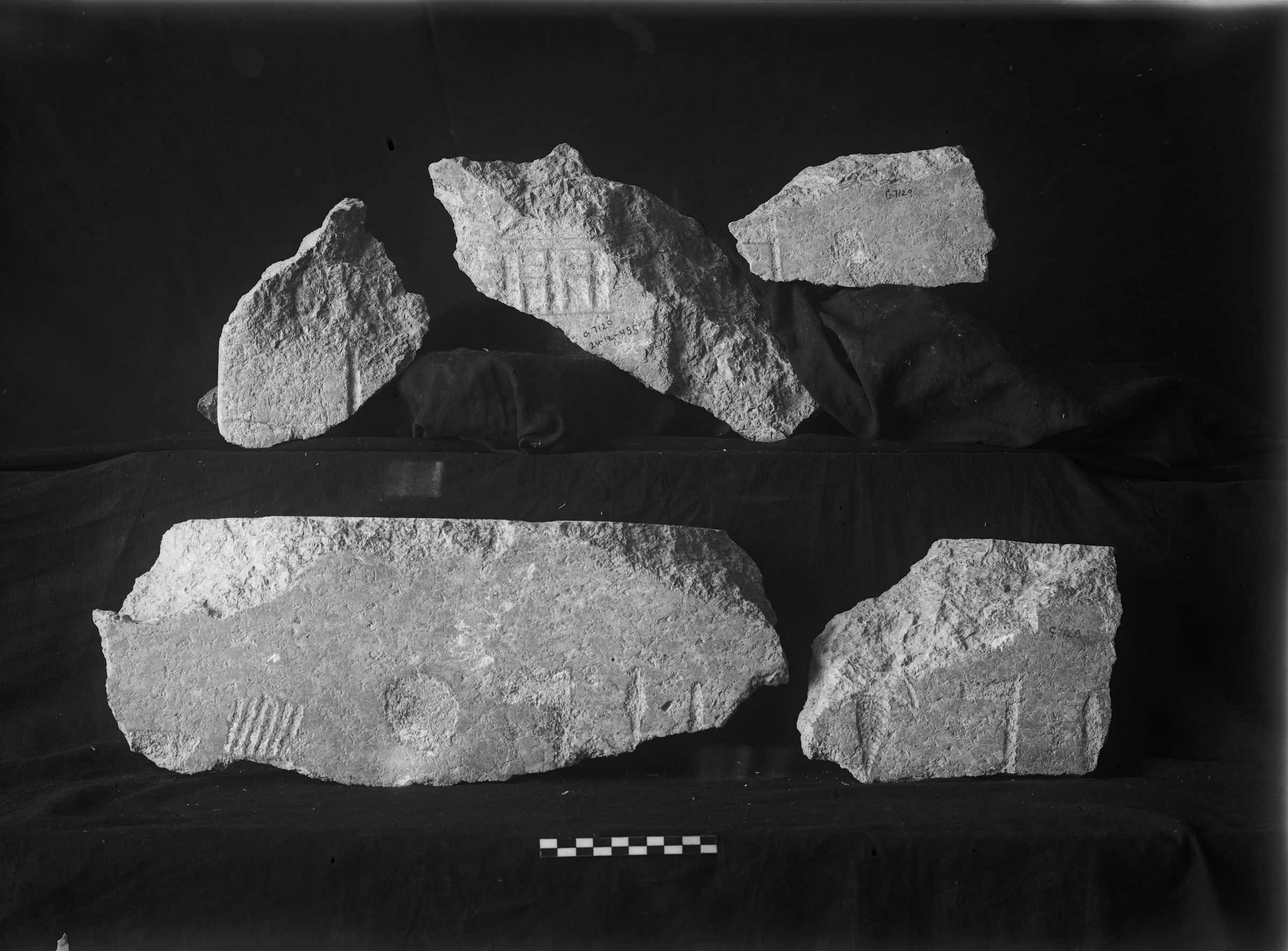 Object(s) photograph: Site: Giza; view: G 7110-7120
