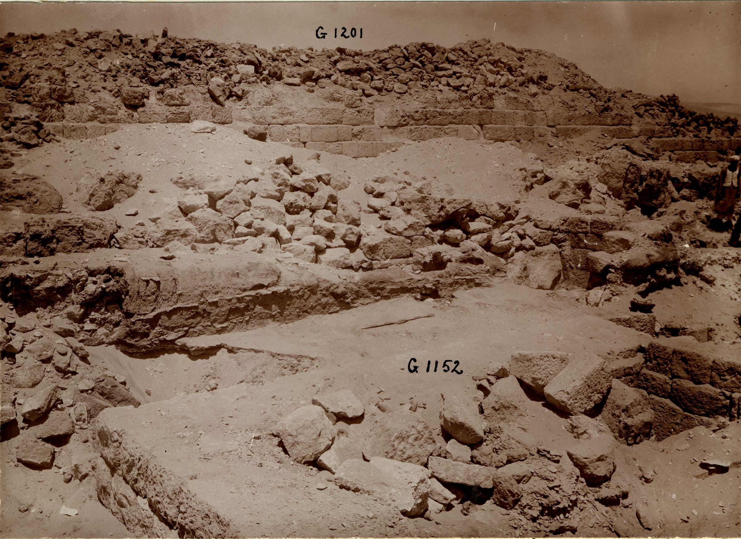 Western Cemetery: Site: Giza; View: G 1152, G 1152a