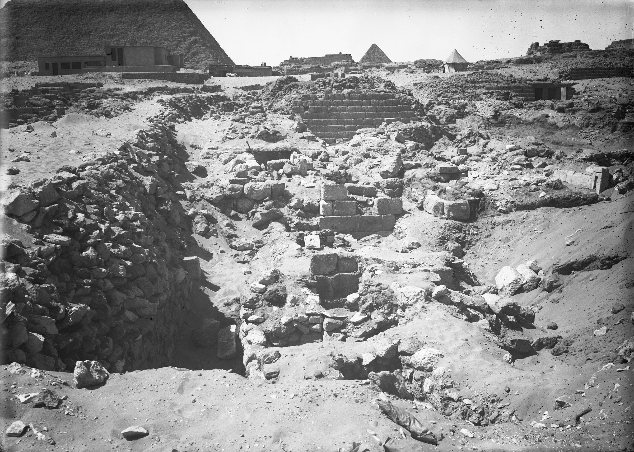 Western Cemetery: Site: Giza; View: G 1117, G 1118, G 1119