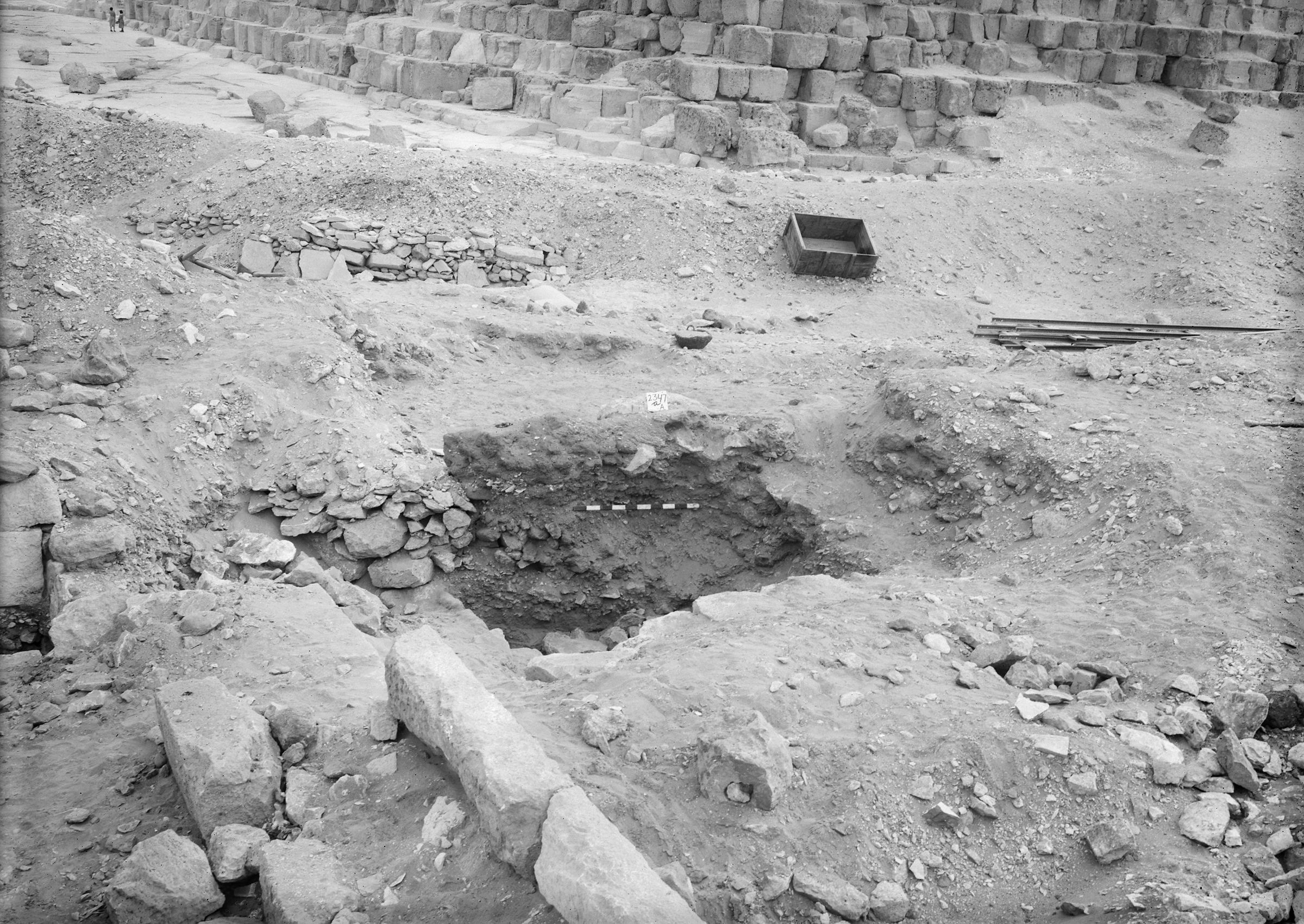 Western Cemetery: Site: Giza; View: G 5563