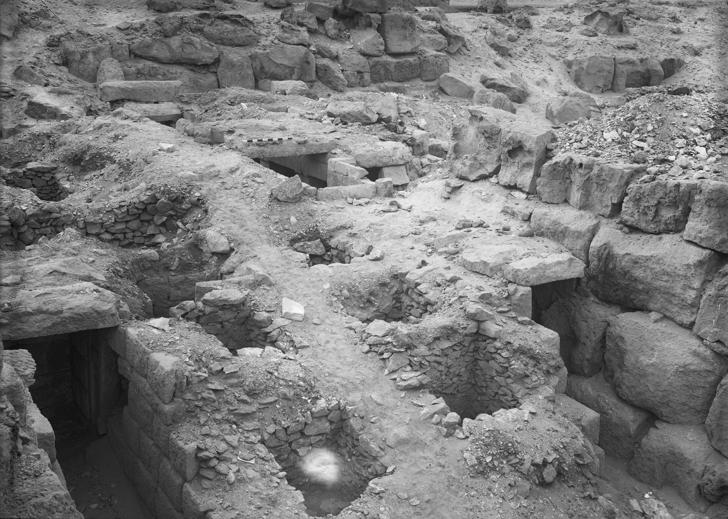 Western Cemetery: Site: Giza; View: G 4516, G 4512, G 4513, G 4510