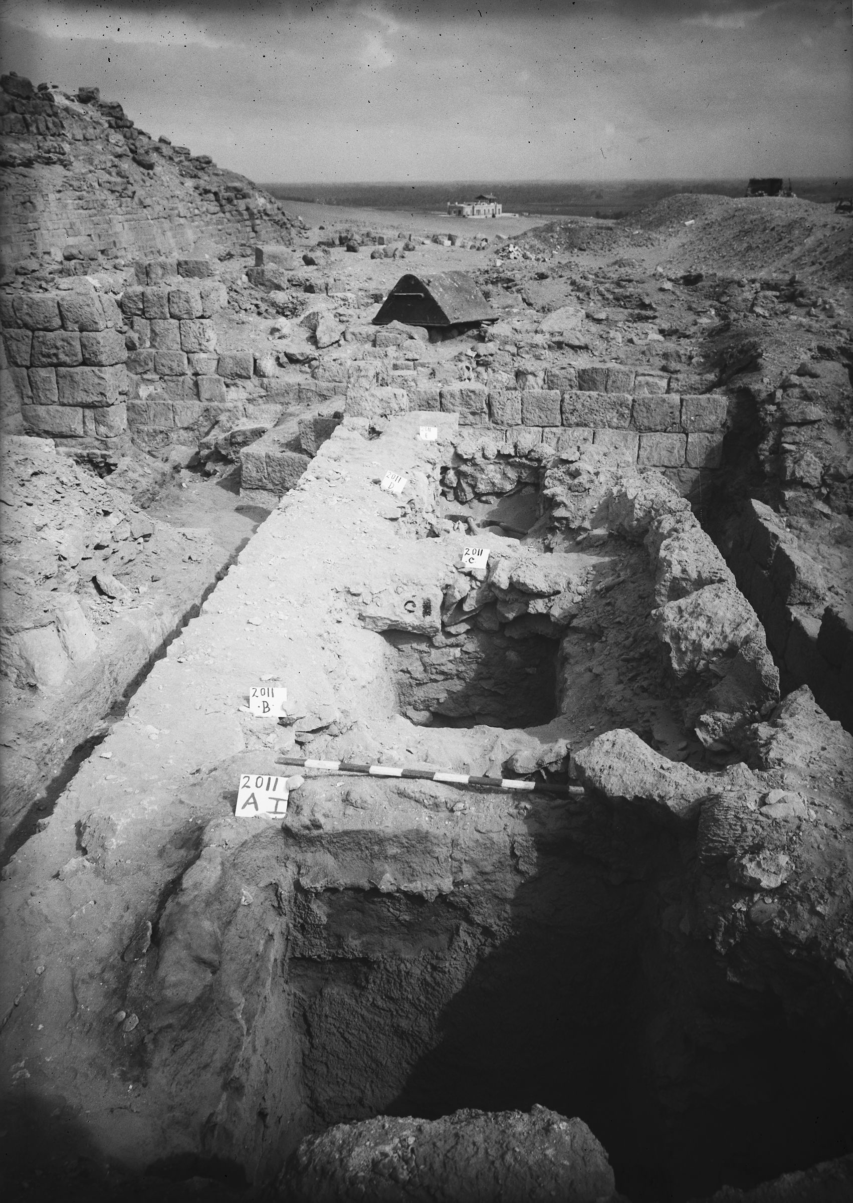 Western Cemetery: Site: Giza; View: G 2011