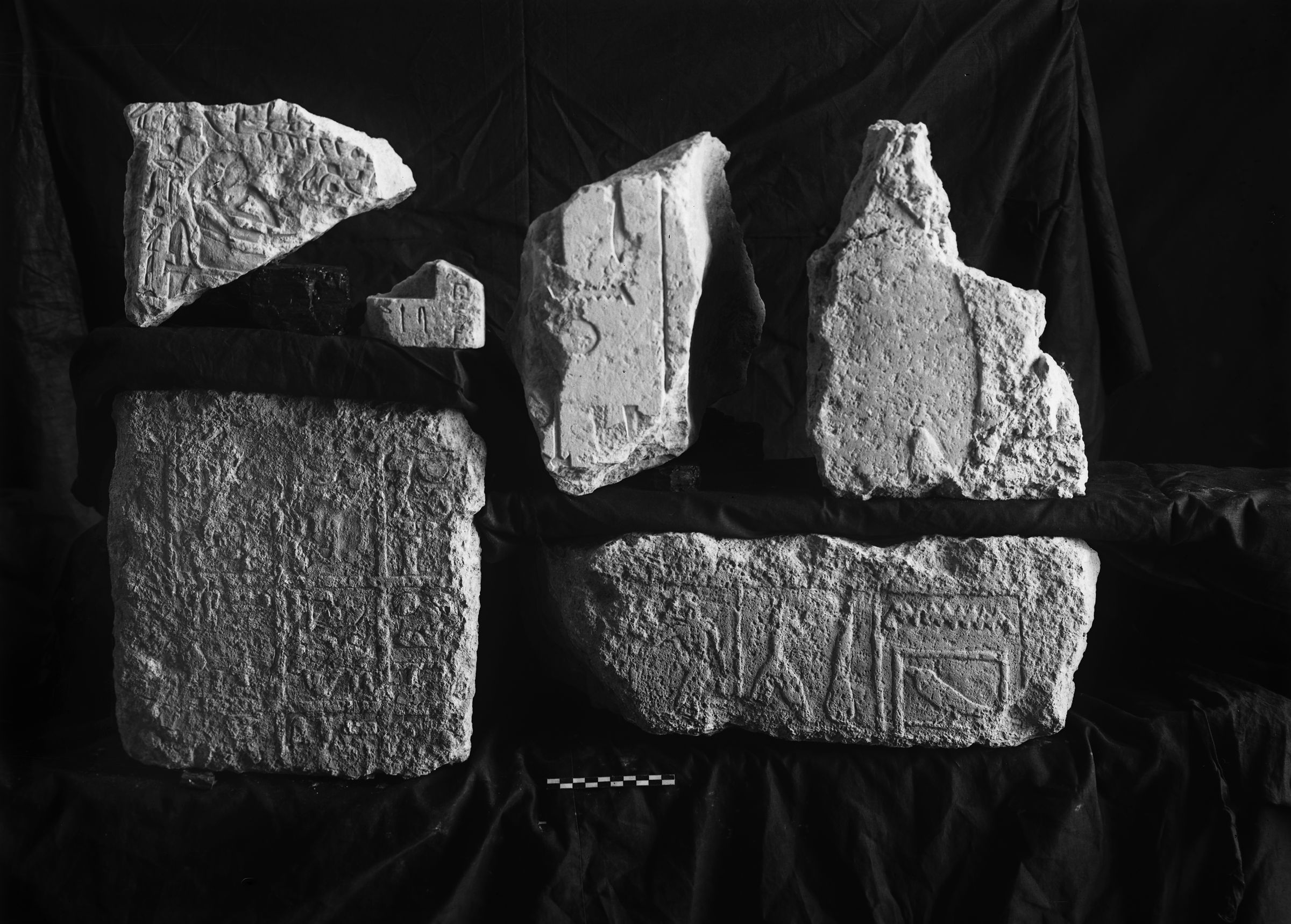 Object(s) photograph: Site: Giza; view: G 2428, G 2011, G 2378, G 2420, G 2409