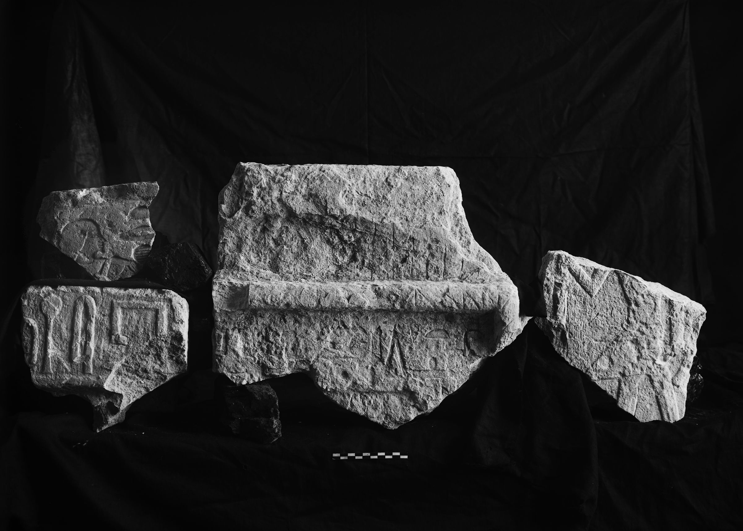 Object(s) photograph: Site: Giza; view: G 2418, G 2011, G 2378, G 2428