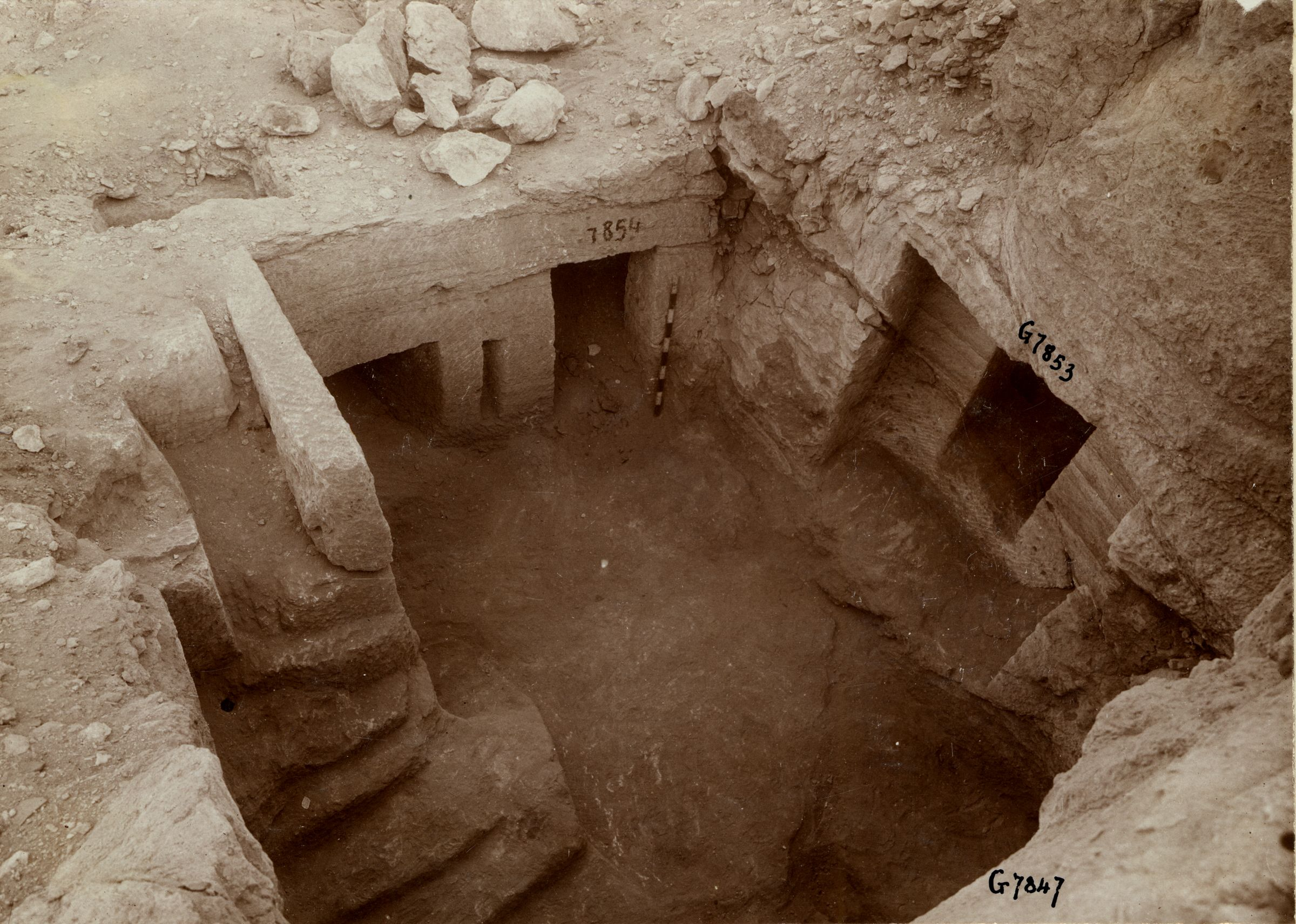 Eastern Cemetery: Site: Giza; View: G 7853, G 7854