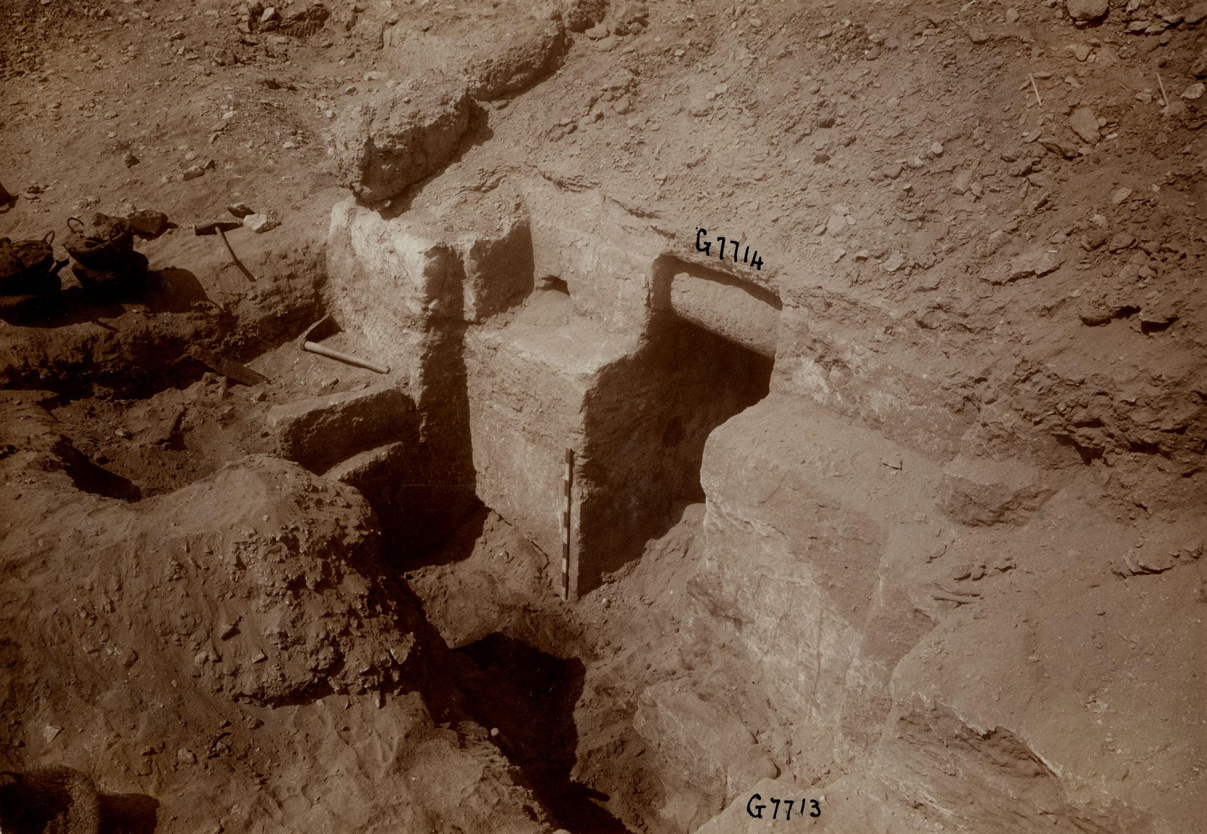 Eastern Cemetery: Site: Giza; View: G 7714