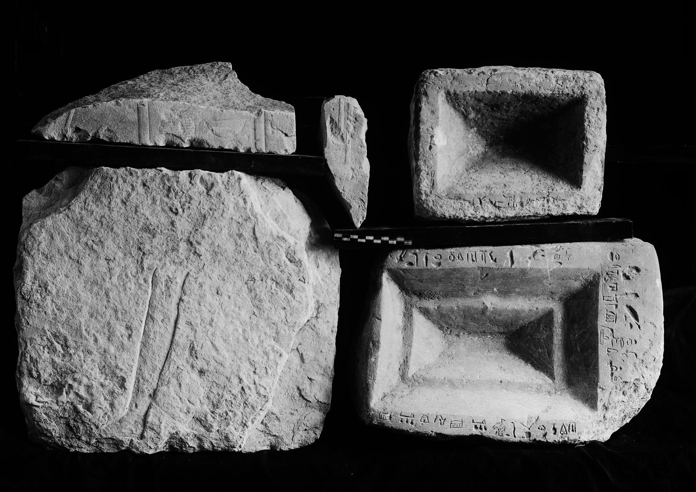 Object(s) photograph: Site: Giza; view: G 2120, G 2054, G 2140, G 2110
