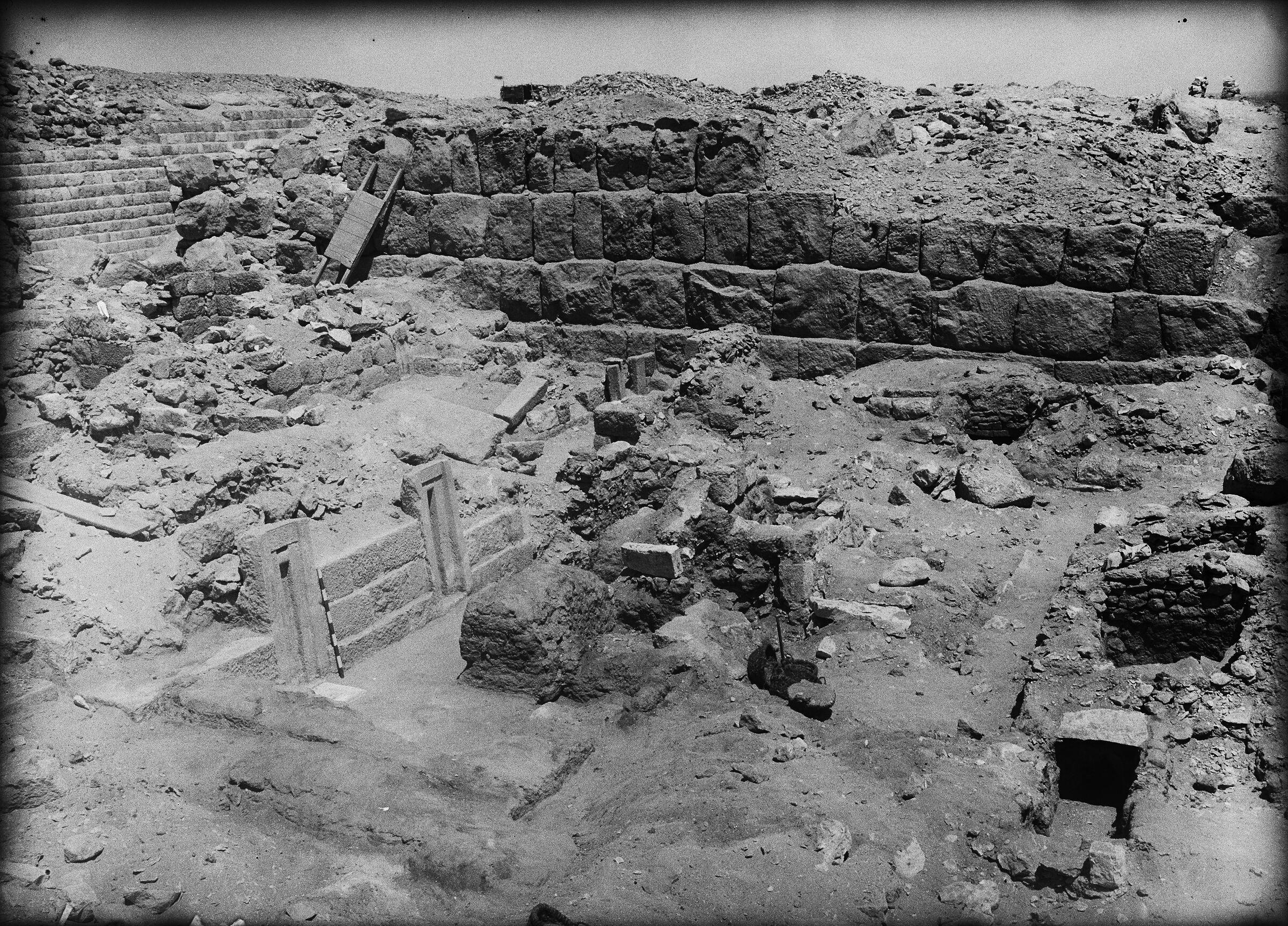 Western Cemetery: Site: Giza; View: G 2151, G 2152, G 2153, G 2154, G 2220