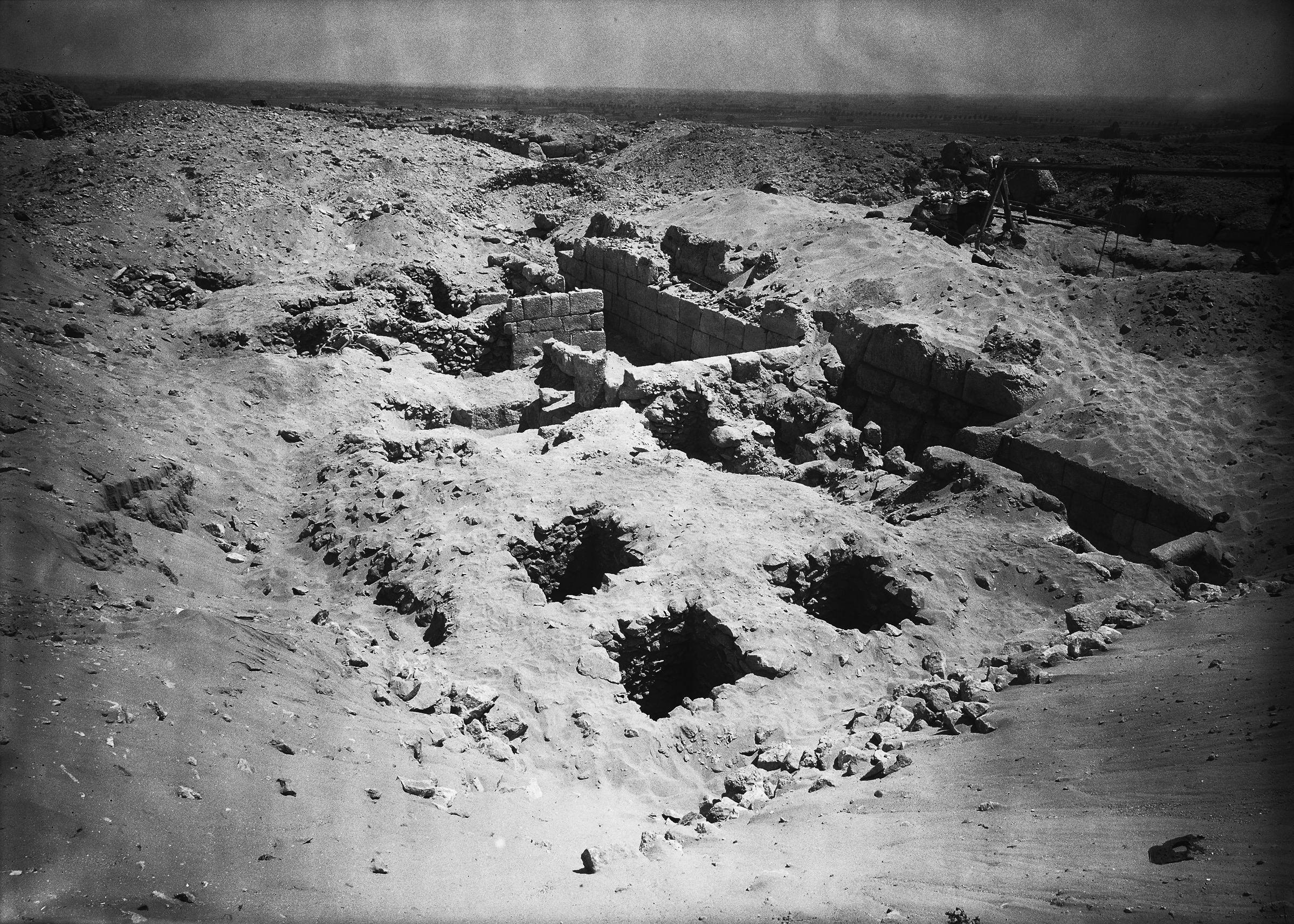 Western Cemetery: Site: Giza; View: G 4122, G 4121
