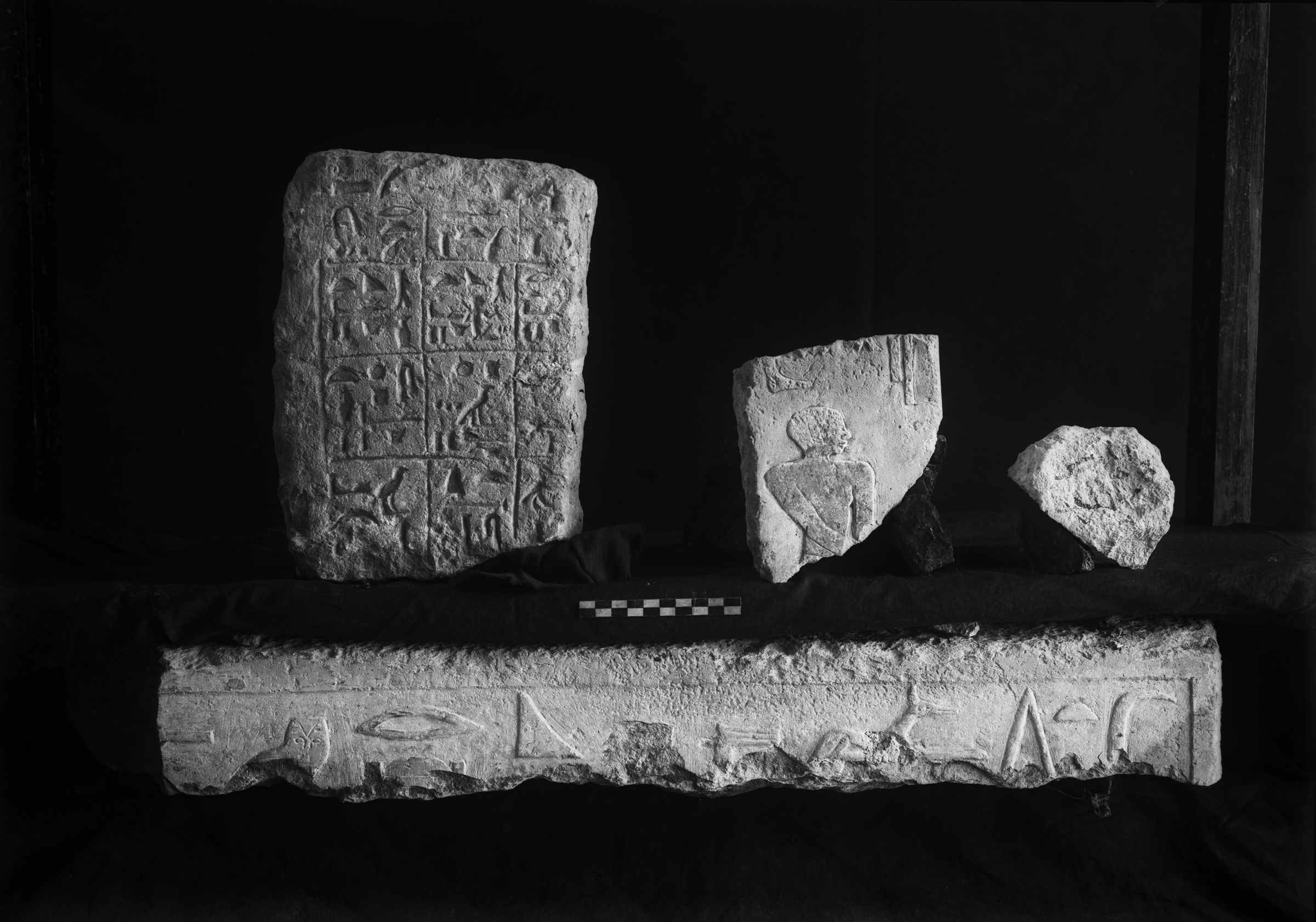 Object(s) photograph: Site: Giza; view: G 2154, G 2154a, G 2138, G 2088