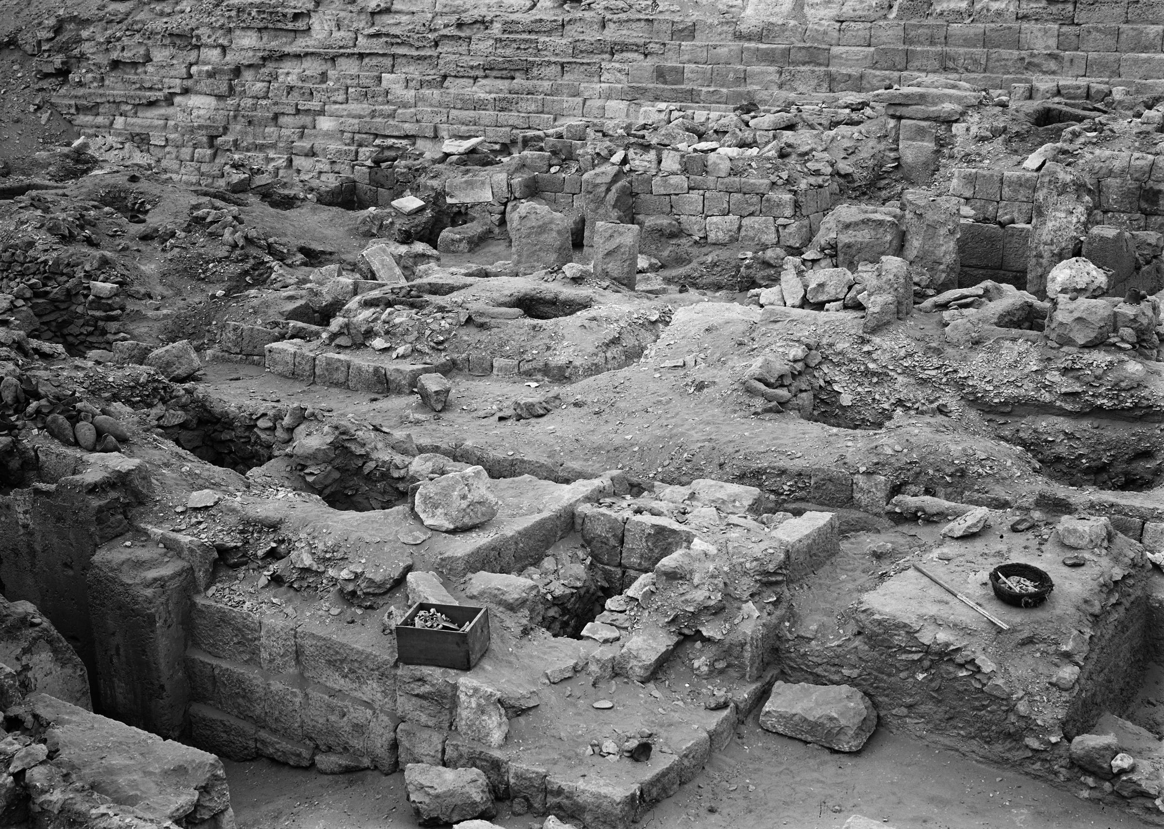 Western Cemetery: Site: Giza; View: G 1035, G 1036, G 1034