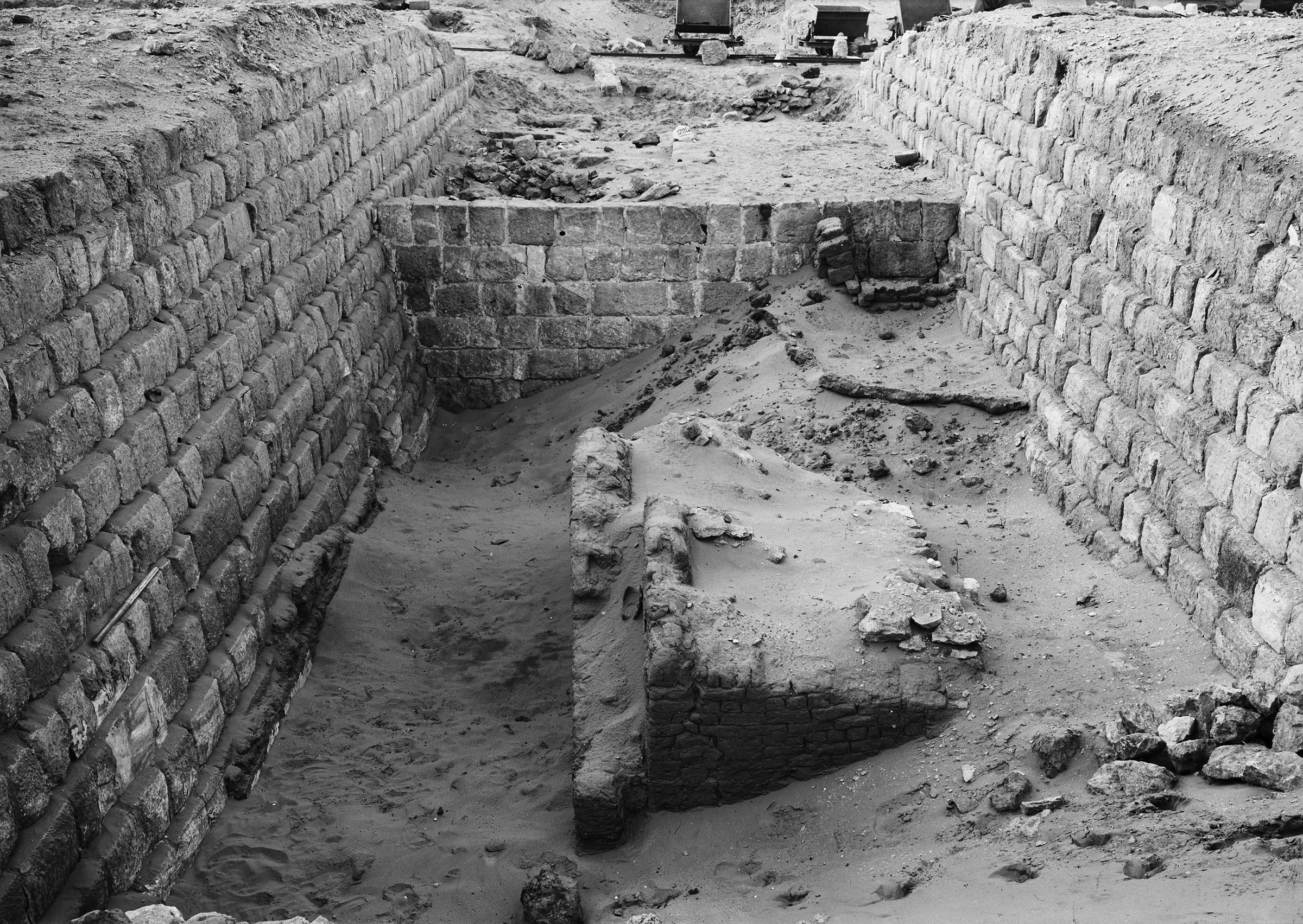 Western Cemetery: Site: Giza; View: G 1204, G 1205, G 1203, G 1367