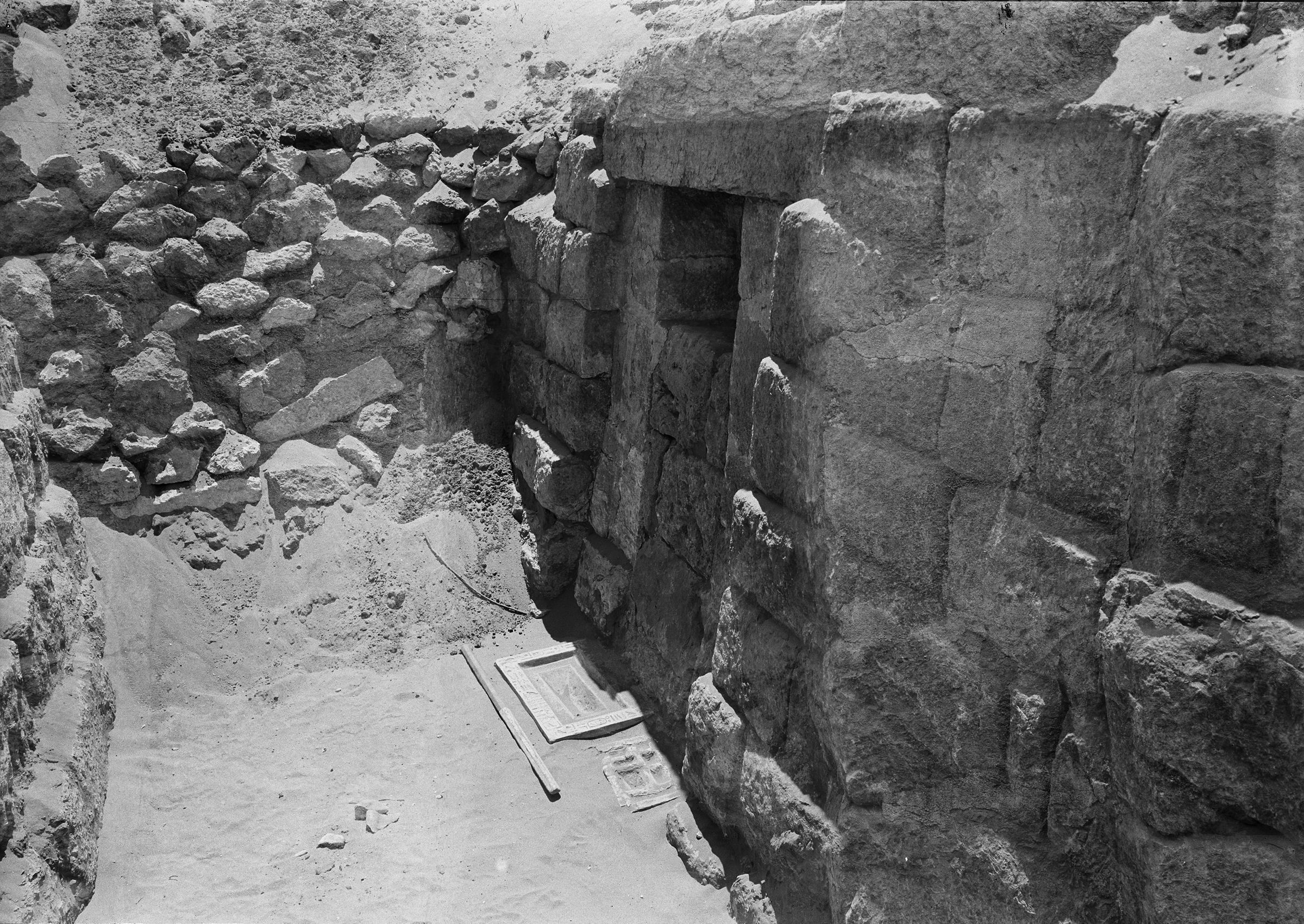 Western Cemetery: Site: Giza; View: G 1206