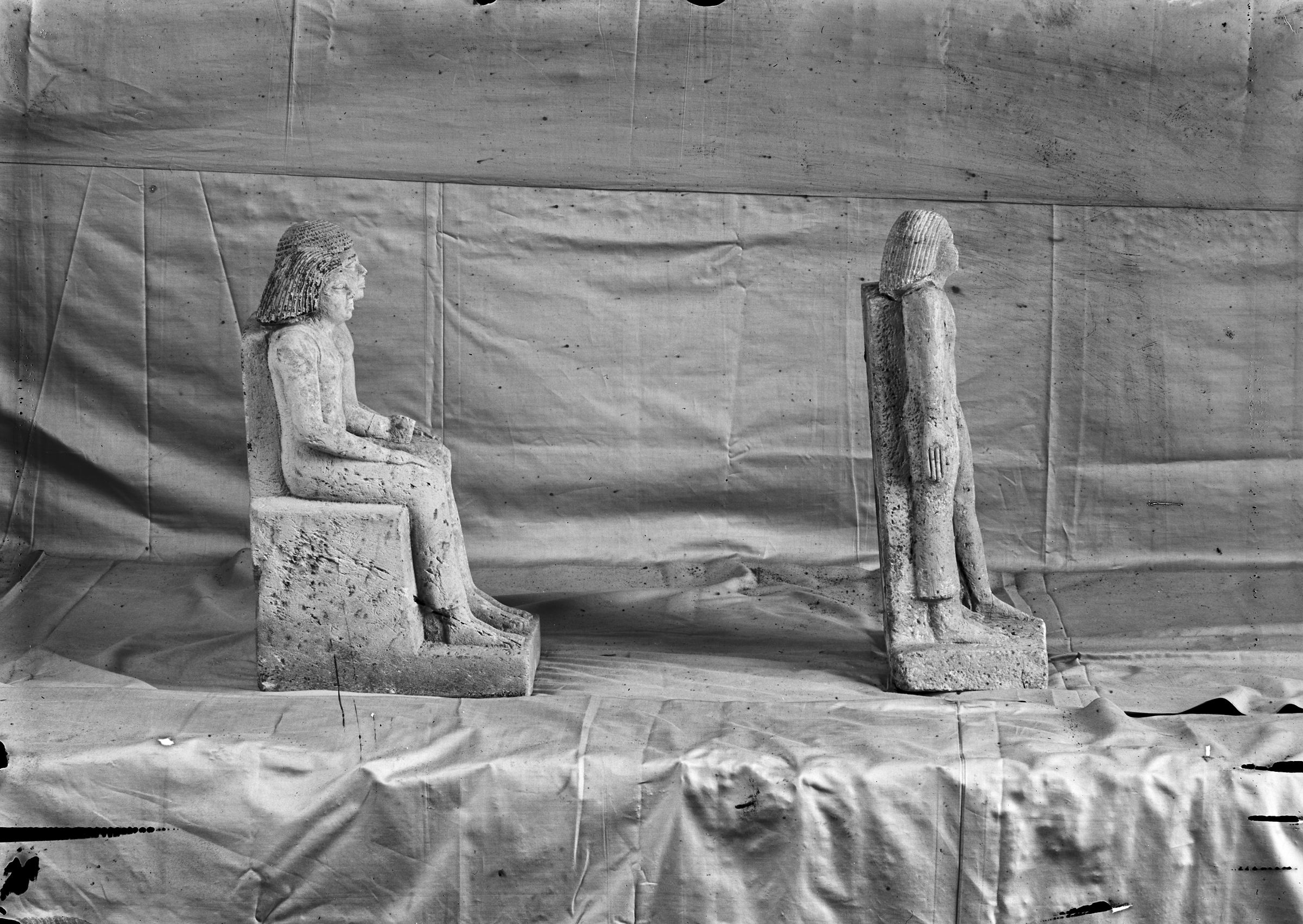 Object(s) photograph: Site: Giza; view: G 1020, G 1022