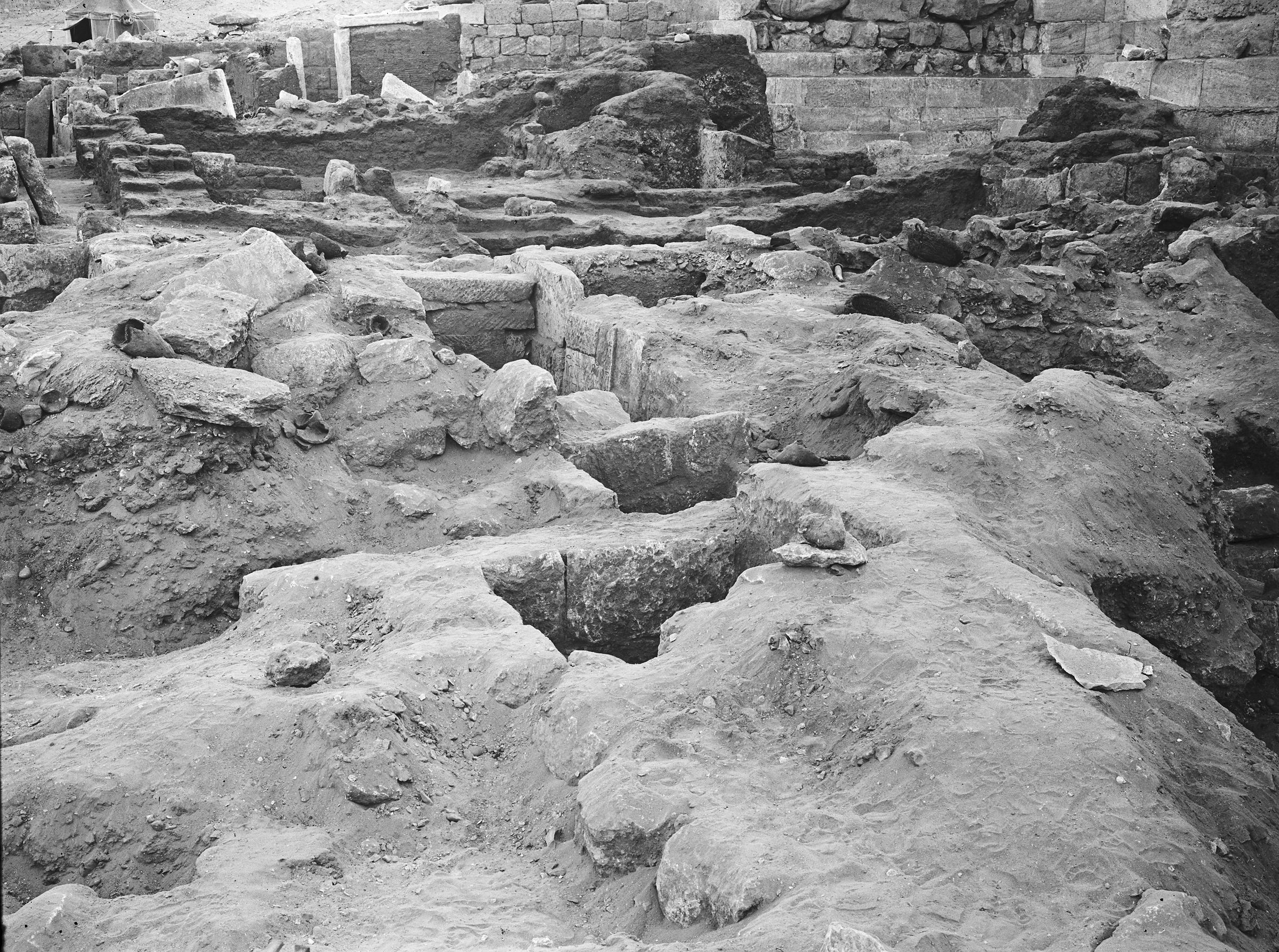 Western Cemetery: Site: Giza; View: G 2042
