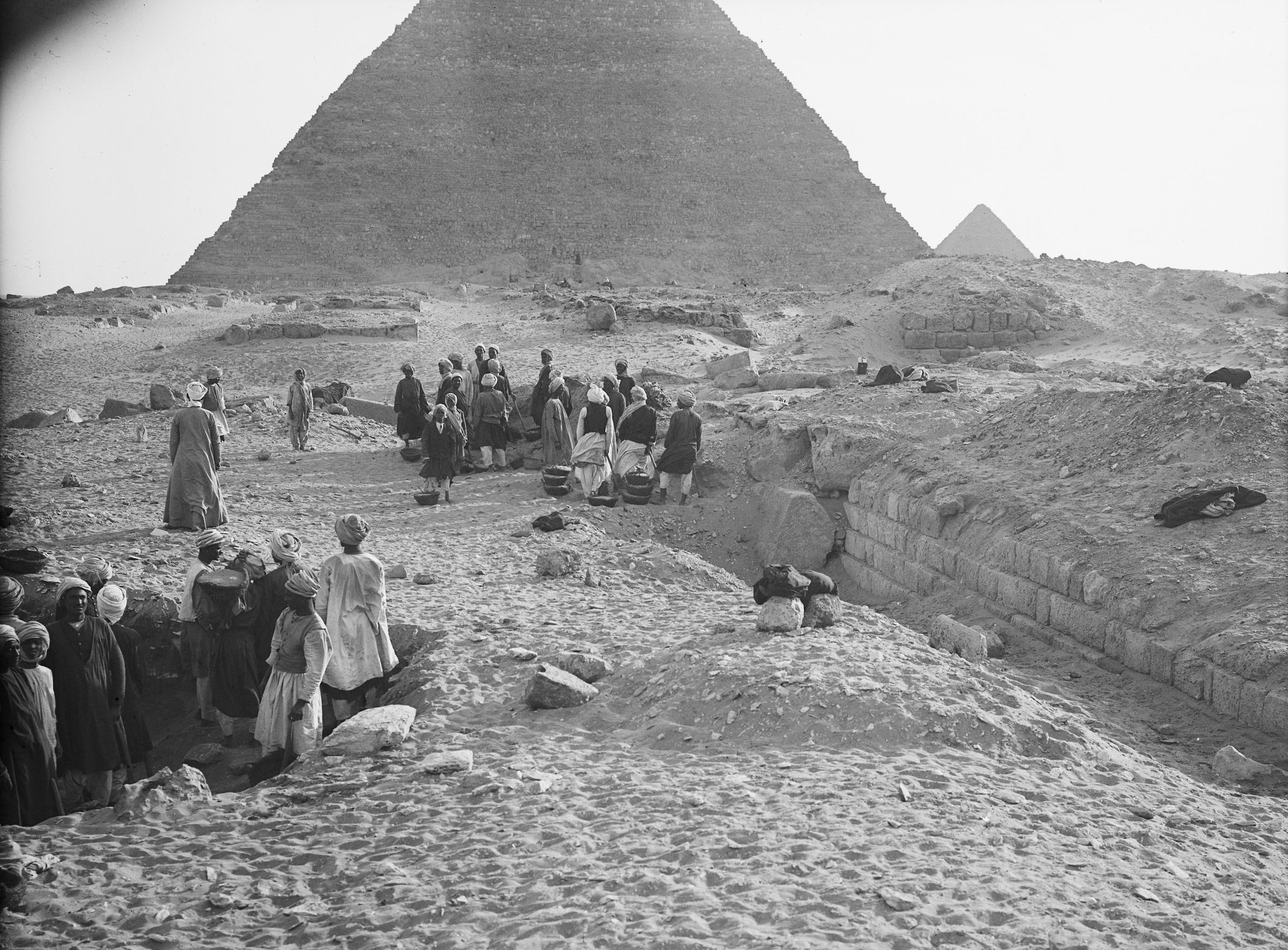 Western Cemetery: Site: Giza; View: G 2120, G 2130, G 2100, G 2100-I