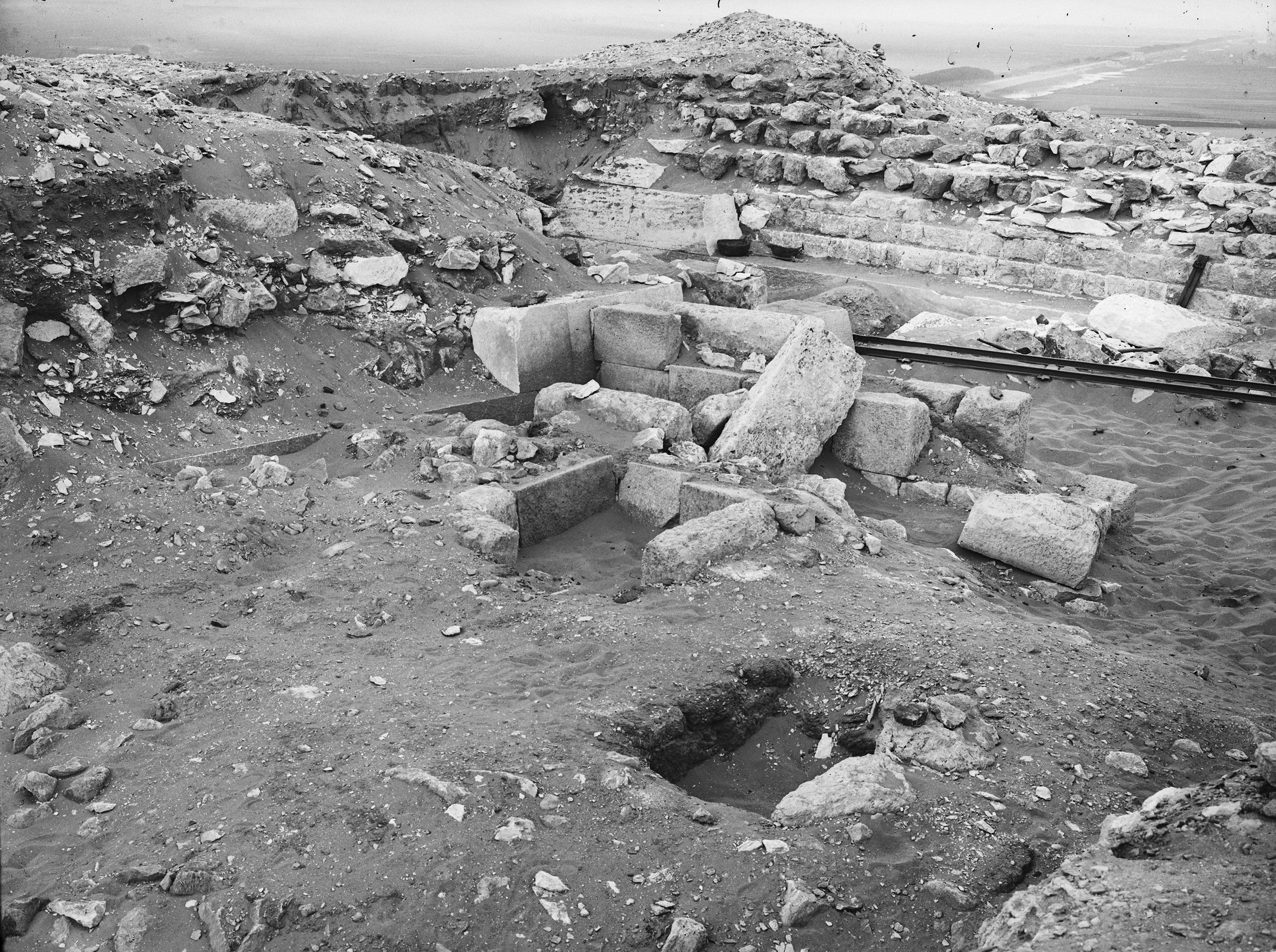 Western Cemetery: Site: Giza; View: G 2111, G 2110, G 2130