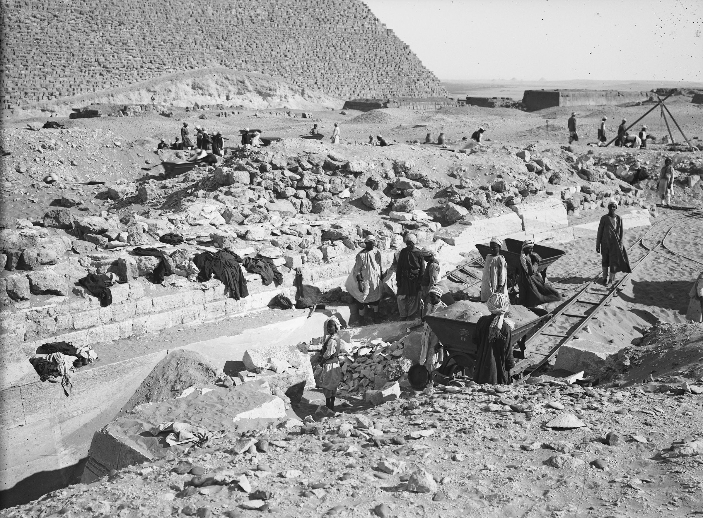 Western Cemetery: Site: Giza; View: G 2130, G 2110