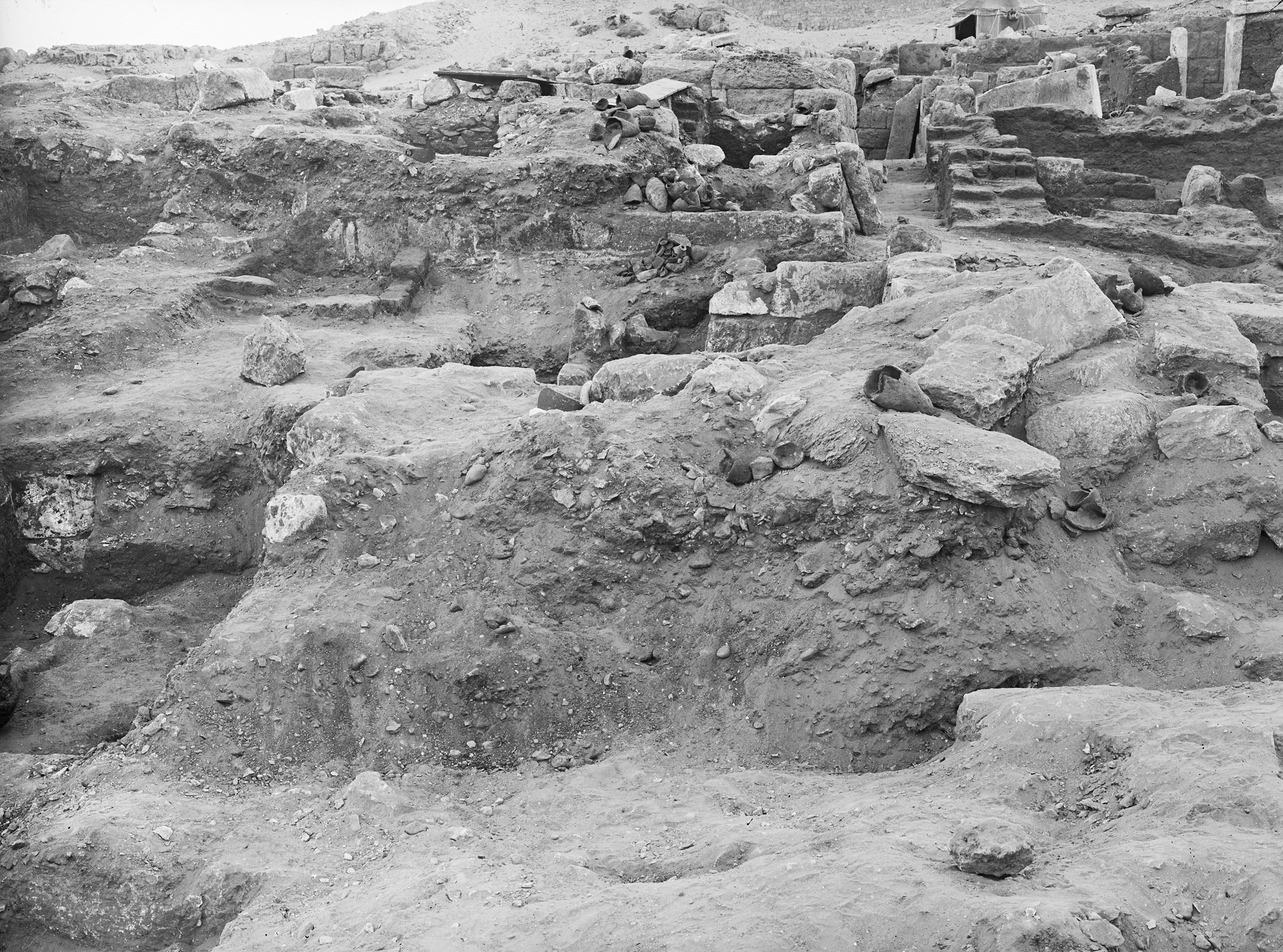 Western Cemetery: Site: Giza; View: G 2045, G 2042