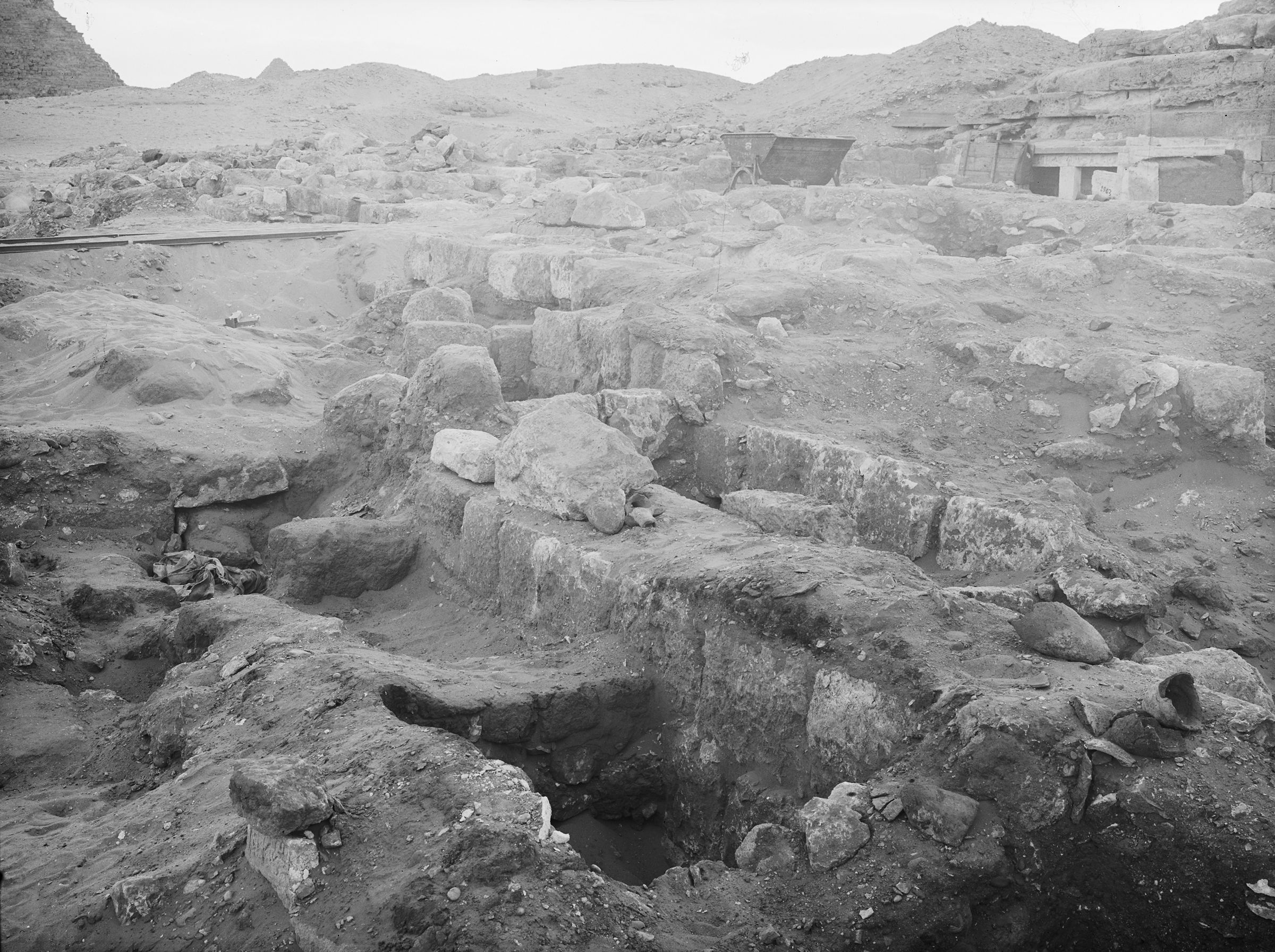 Western Cemetery: Site: Giza; View: G 2036, G 2035