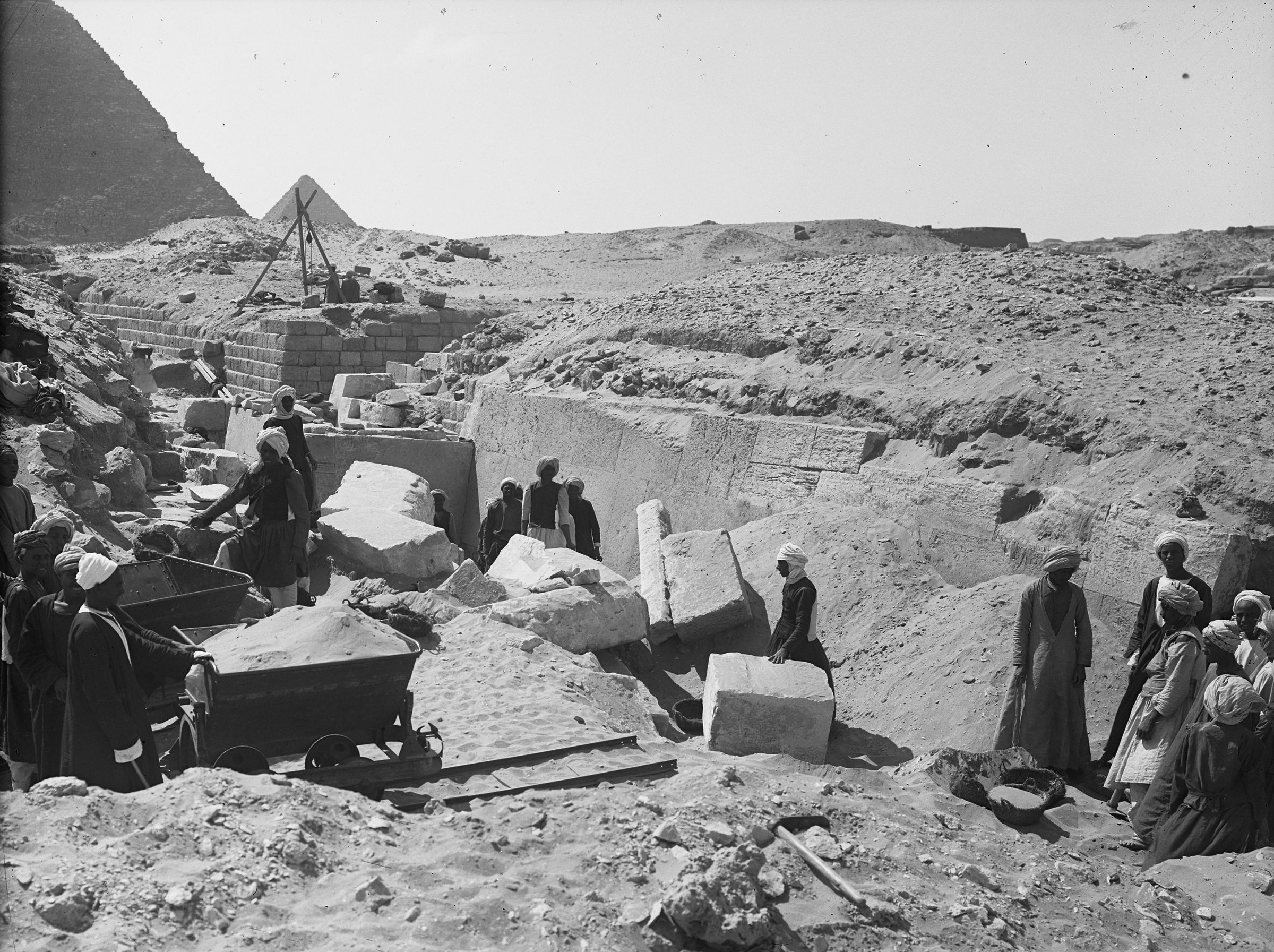Western Cemetery: Site: Giza; View: G 2110, G 2130