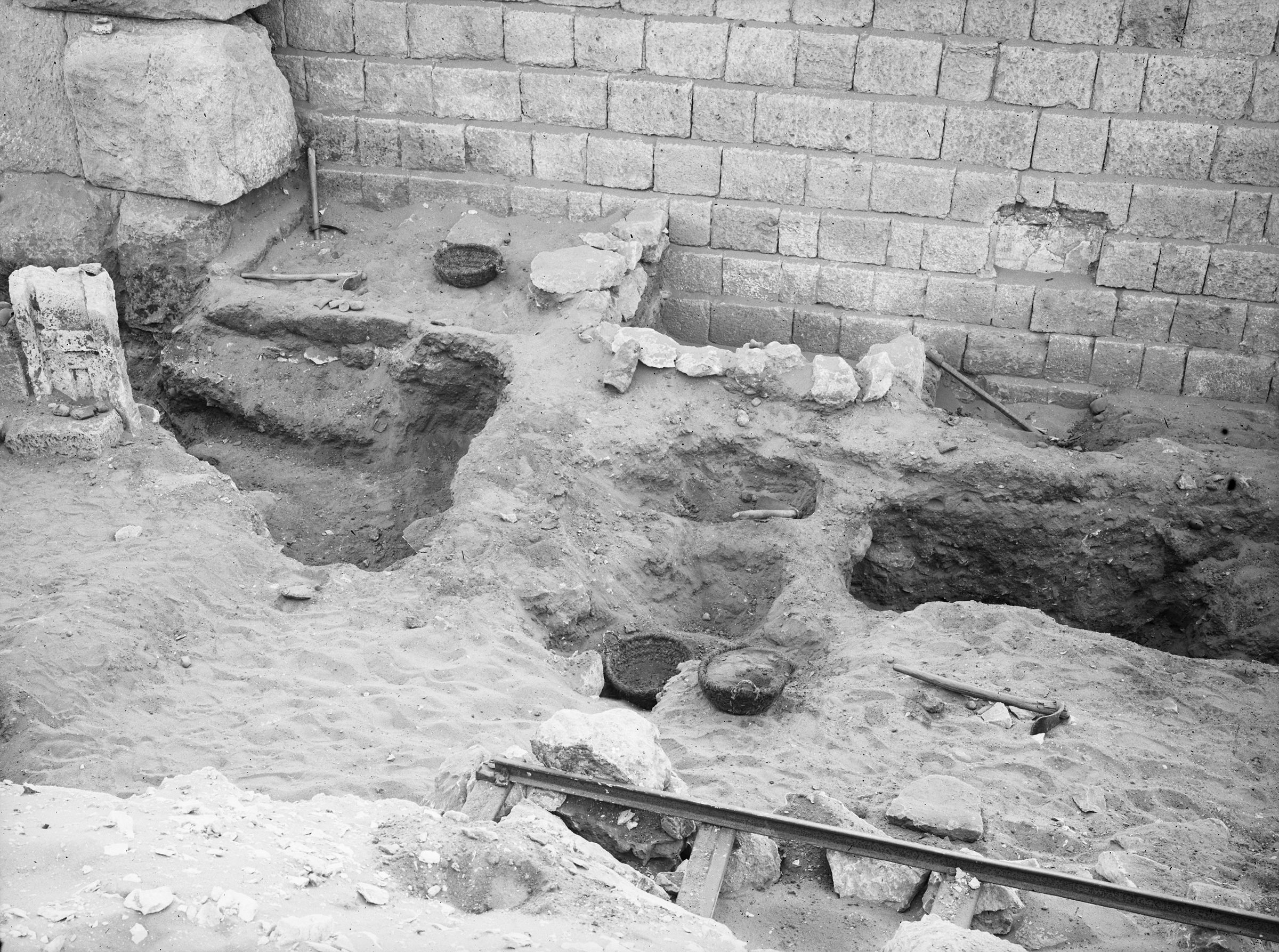 Western Cemetery: Site: Giza; View: G 2100, G 2104