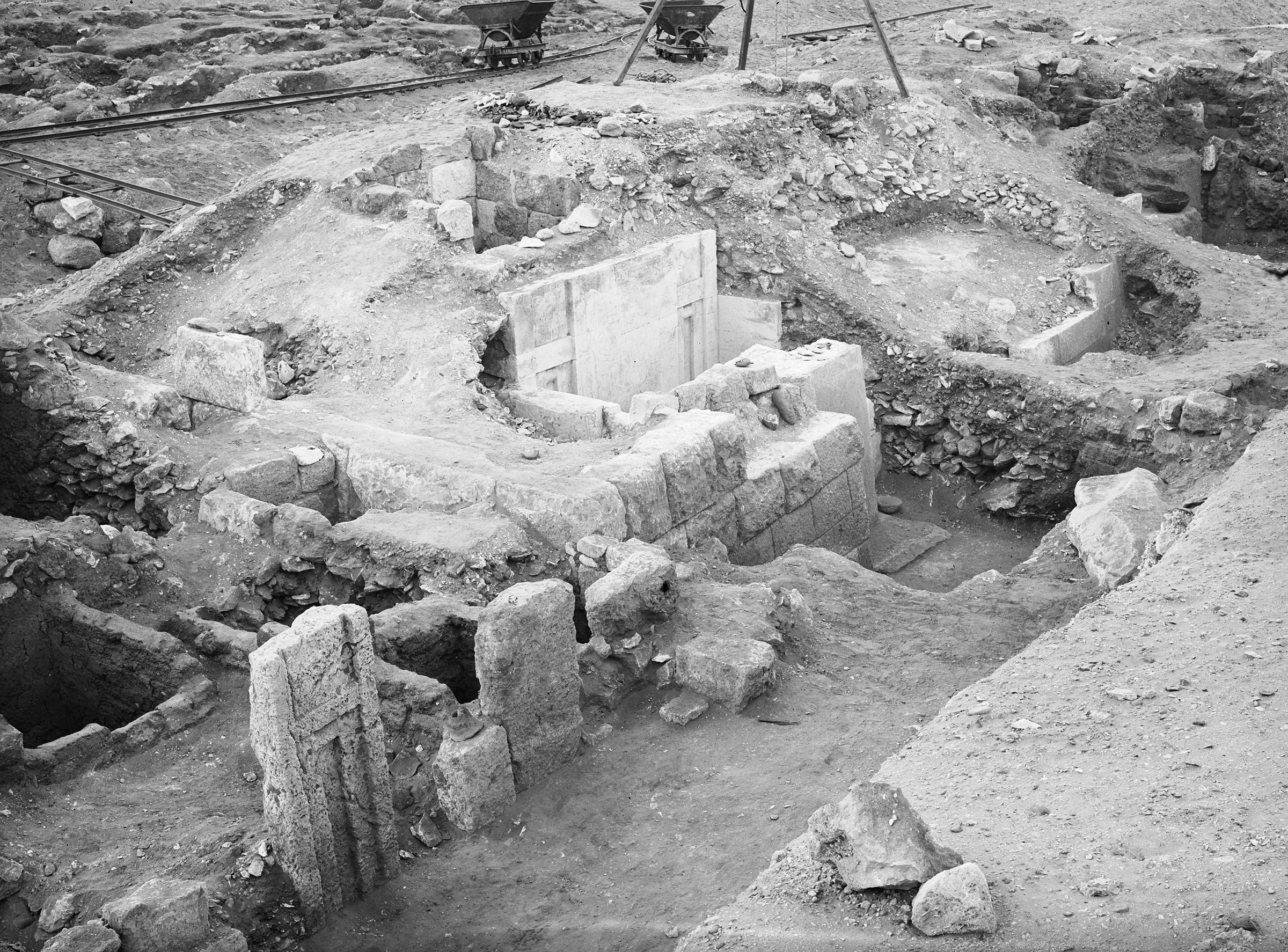 Western Cemetery: Site: Giza; View: G 2041, G 2022