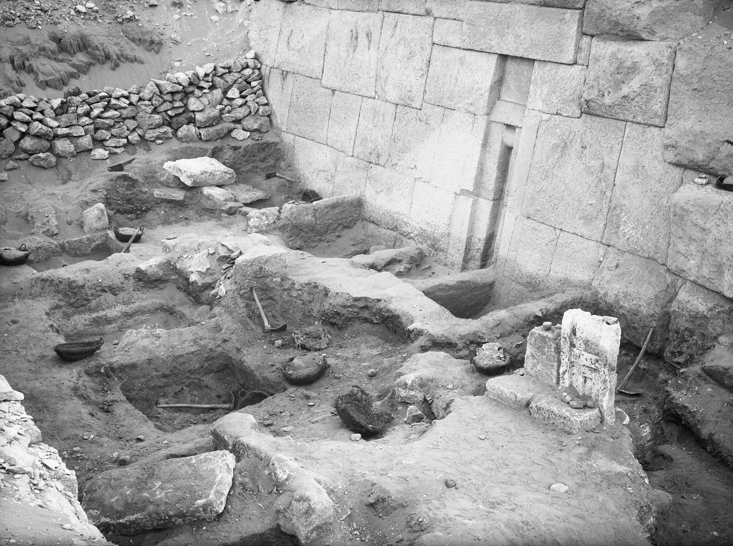 Western Cemetery: Site: Giza; View: G 2100-I, G 2103
